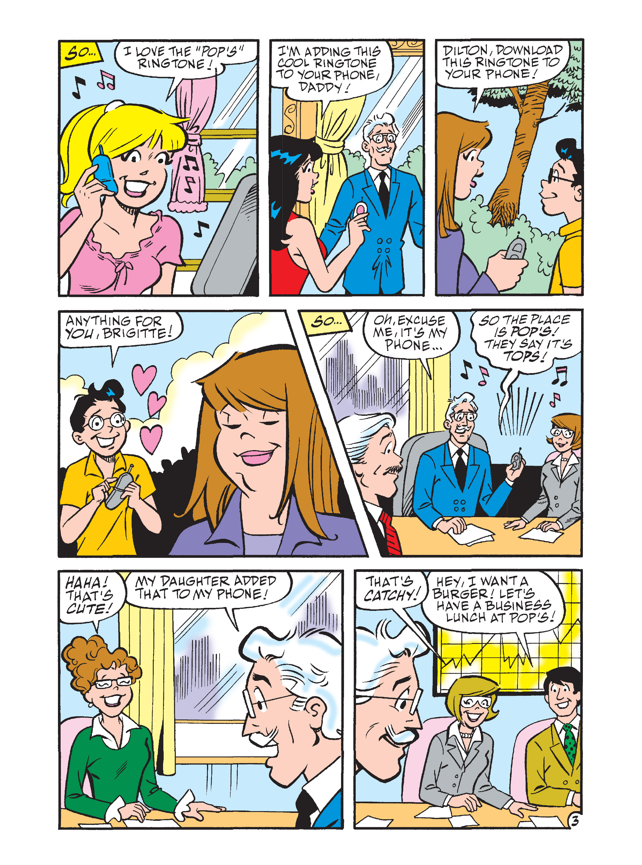 Read online Archie's Funhouse Double Digest comic -  Issue #7 - 97