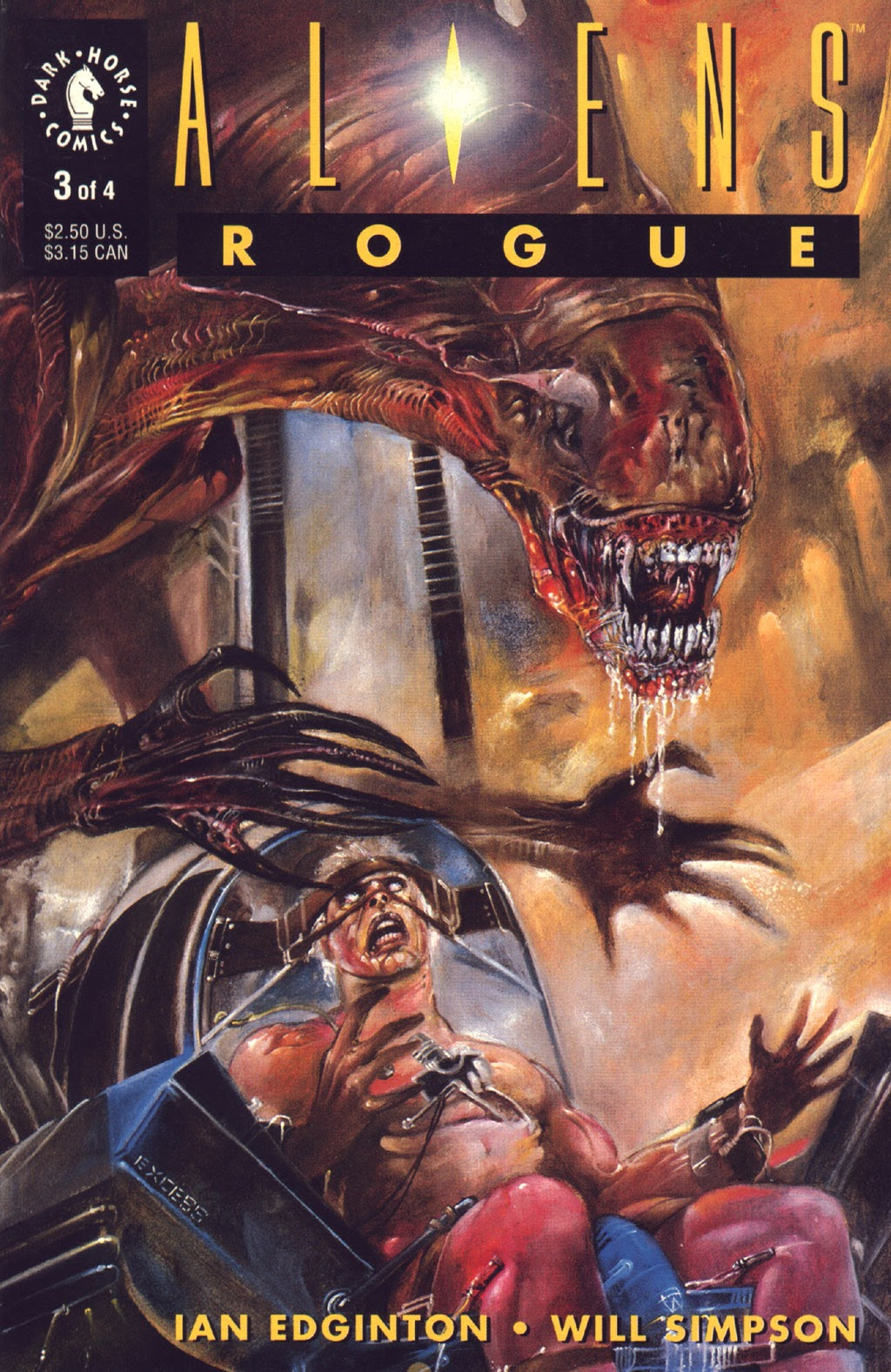Read online Aliens: Rogue comic -  Issue #3 - 1