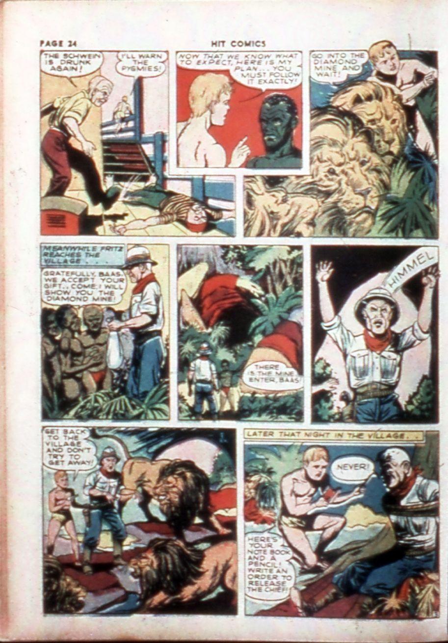 Read online Hit Comics comic -  Issue #14 - 26