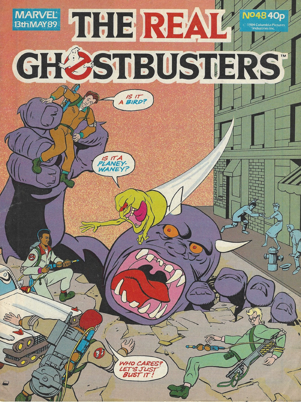 The Real Ghostbusters 48 Page 1