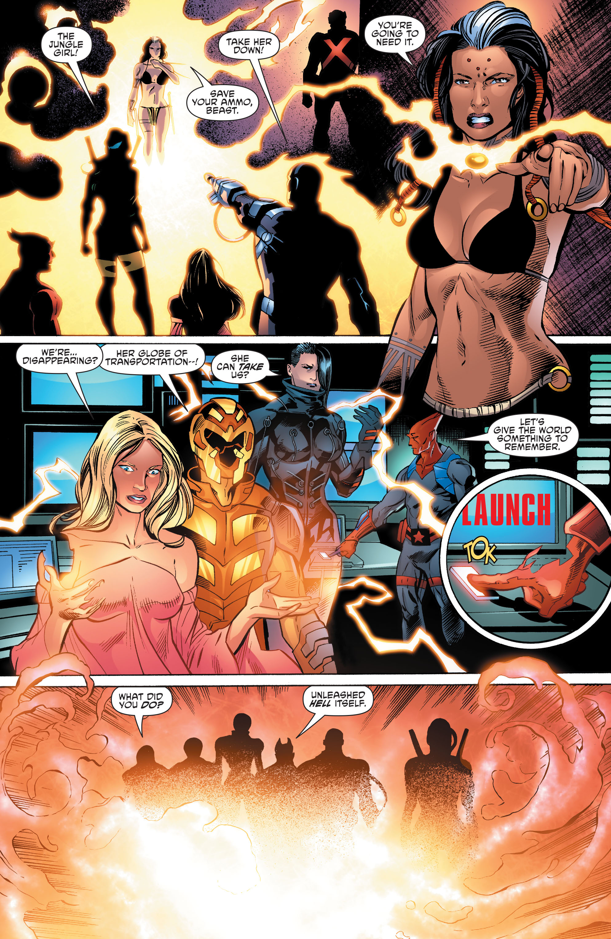 Read online Aquaman and the Others comic -  Issue #10 - 17