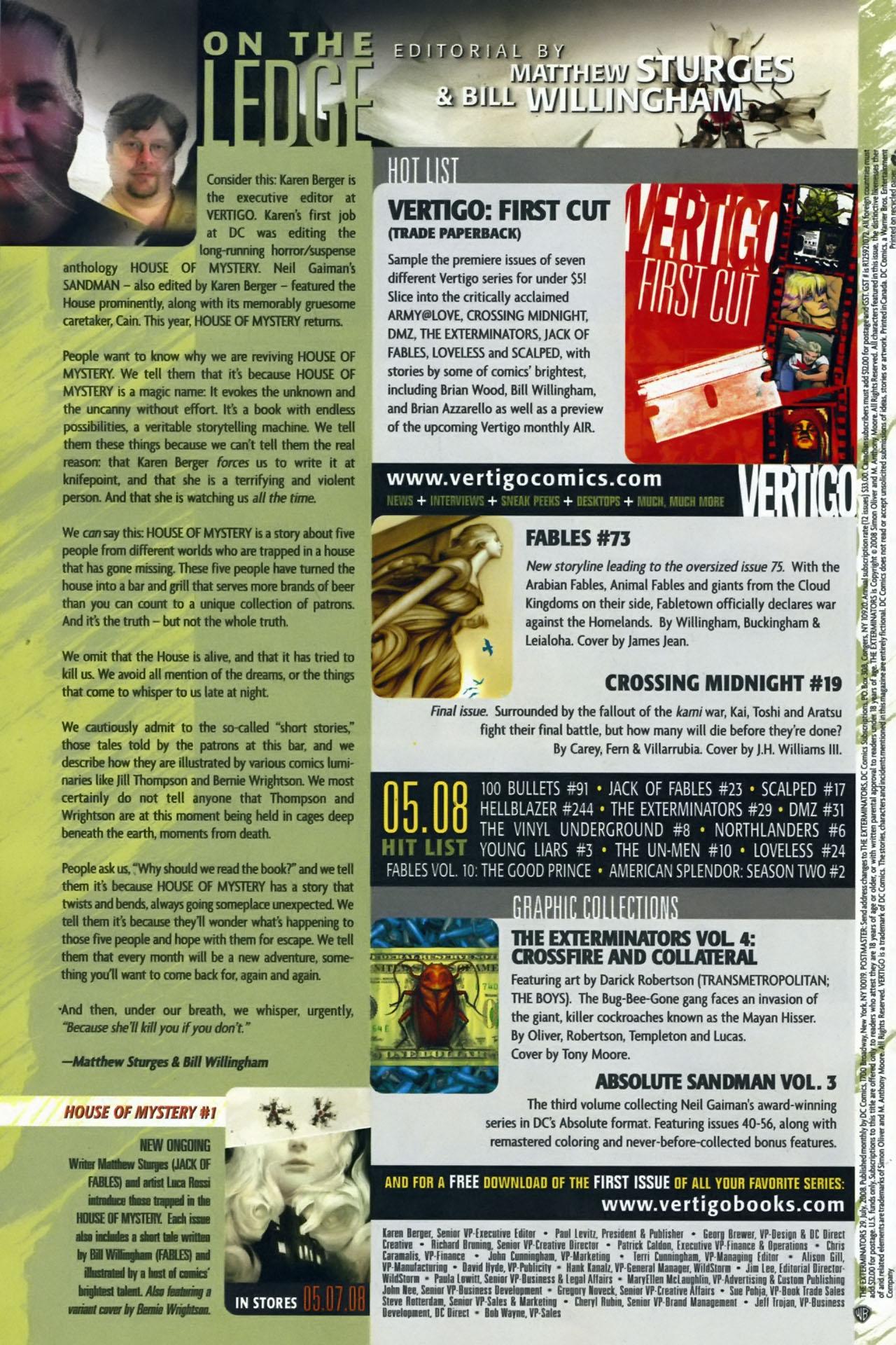 Read online The Exterminators comic -  Issue #29 - 24