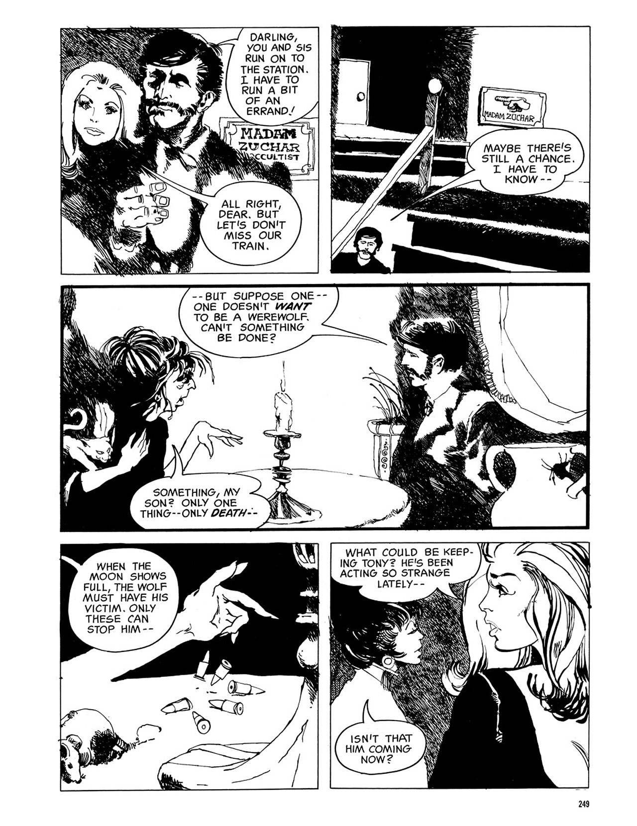 Read online Eerie Archives comic -  Issue # TPB 3 - 250