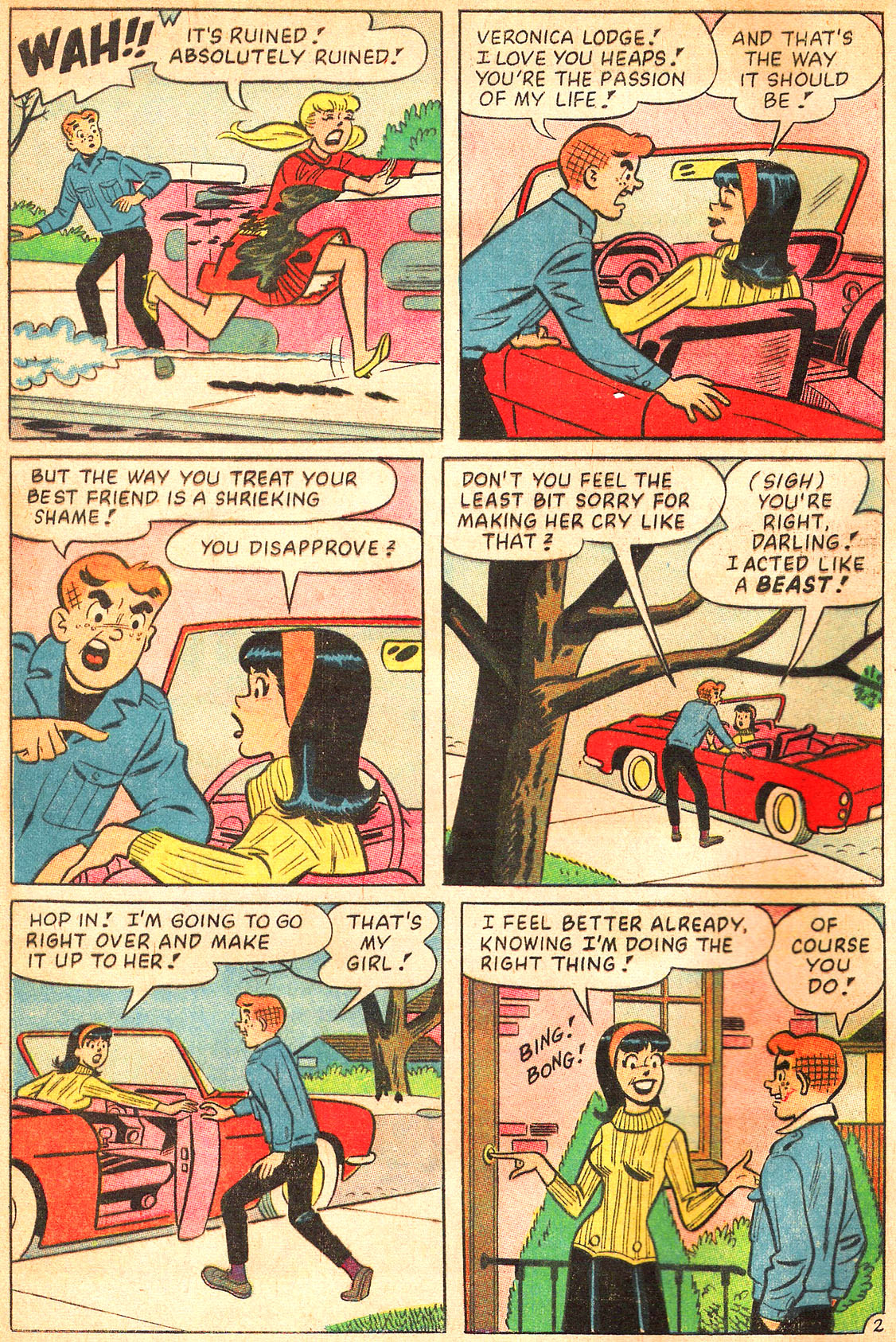 Read online Archie's Girls Betty and Veronica comic -  Issue #134 - 4
