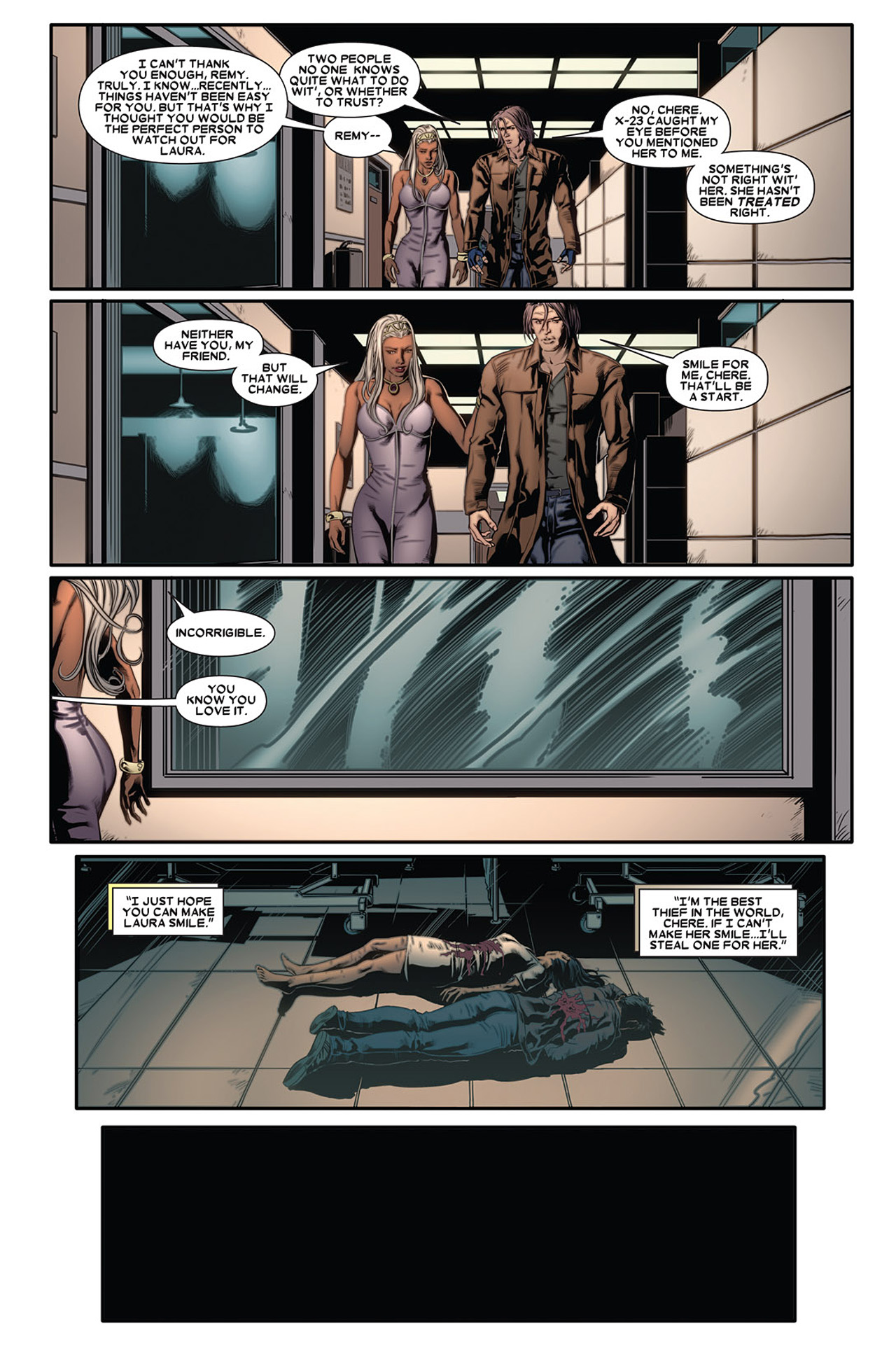 Read online X-23 (2010) comic -  Issue #2 - 23