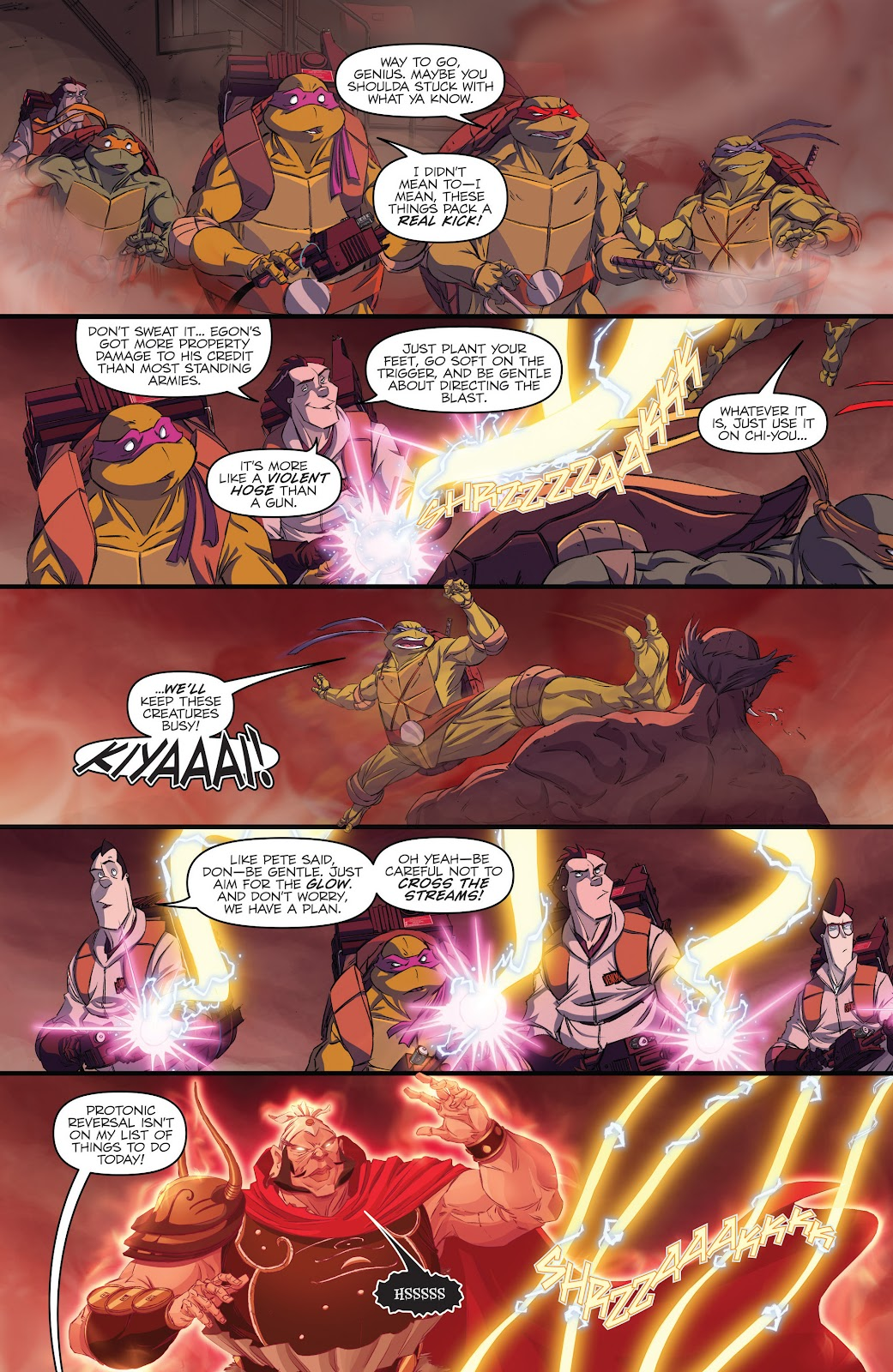 Read online Teenage Mutant Ninja Turtles: The IDW Collection comic -  Issue # TPB 5 (Part 3) - 20