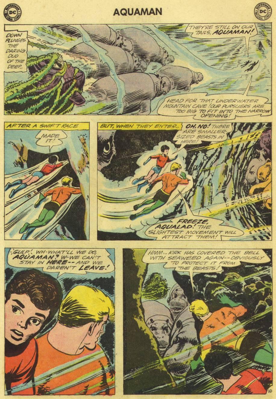 Read online Aquaman (1962) comic -  Issue #12 - 12