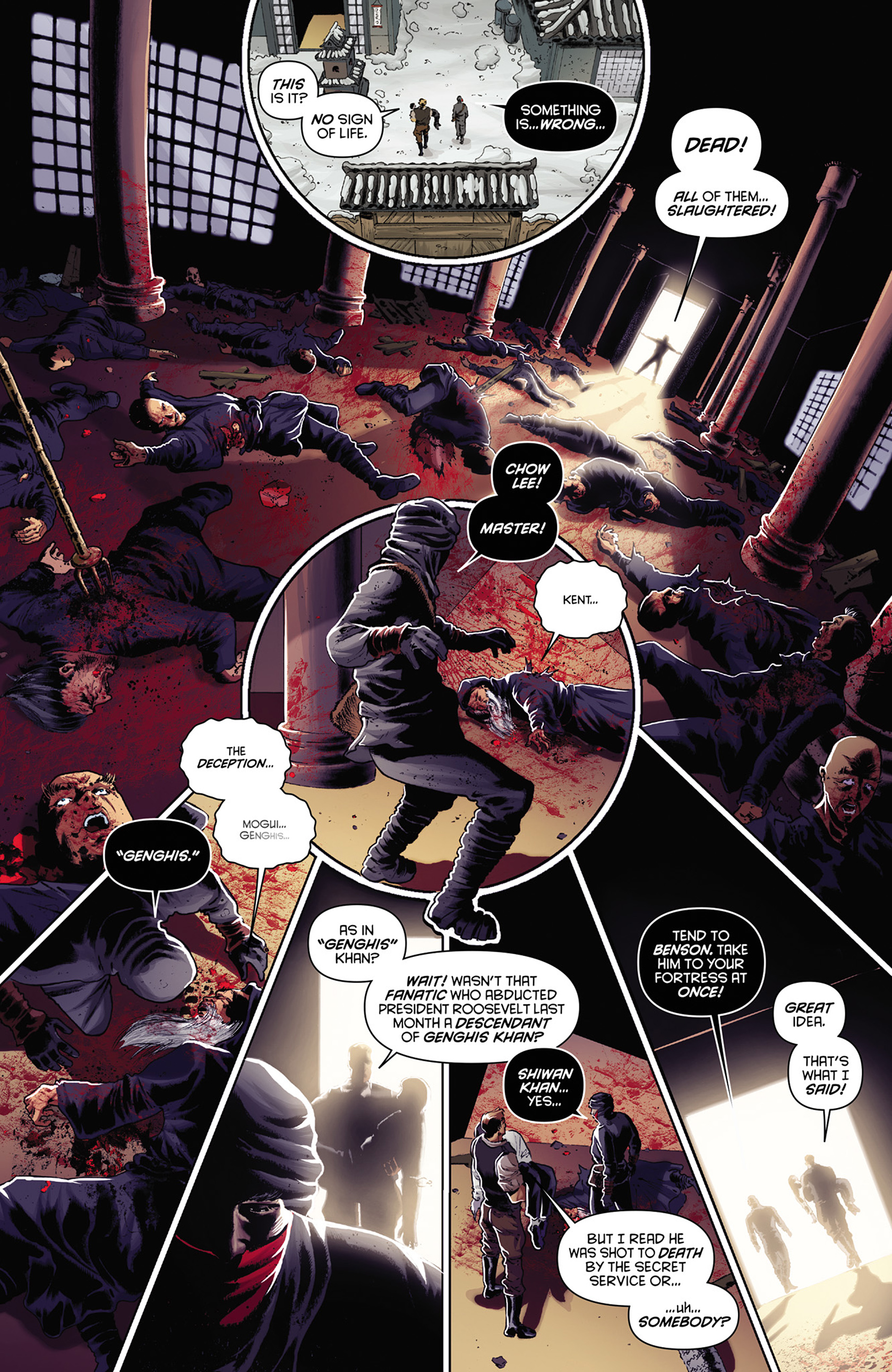 Read online Justice, Inc. comic -  Issue #3 - 7