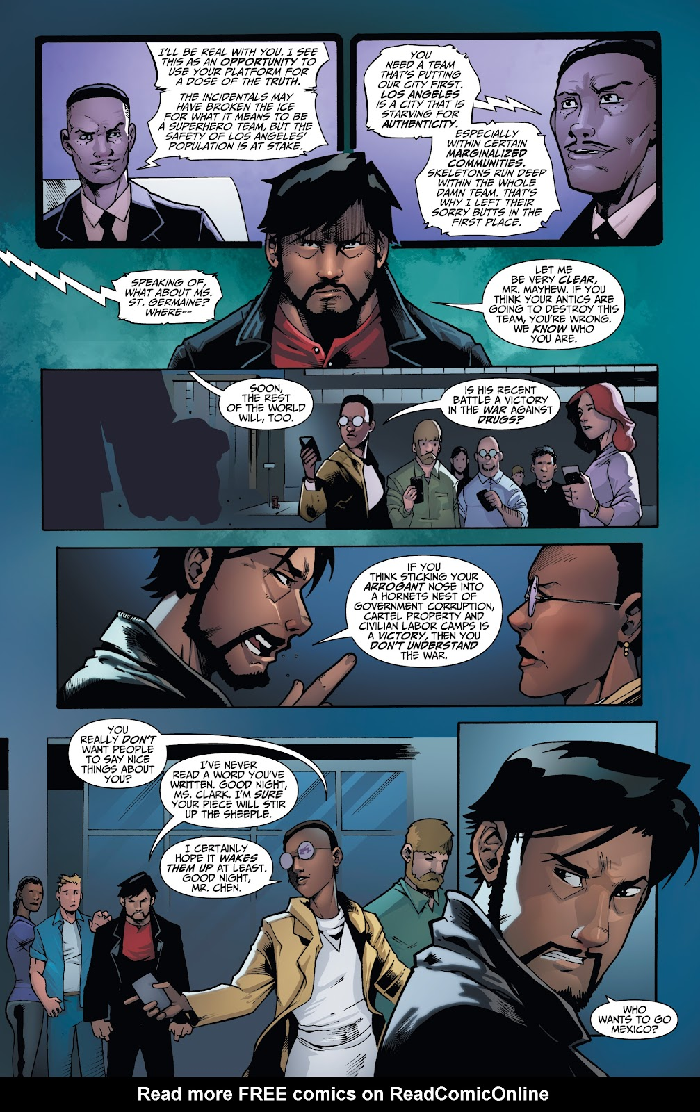 Read online Incidentals comic -  Issue #17 - 5