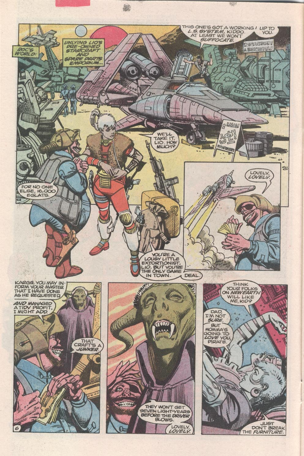 Read online Atari Force (1984) comic -  Issue #3 - 7