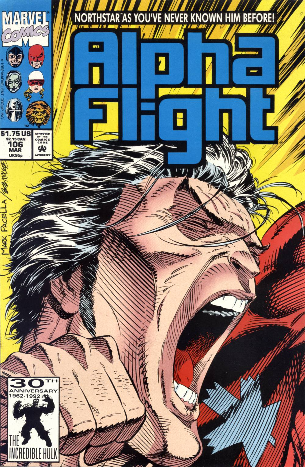 Read online Alpha Flight (1983) comic -  Issue #106 - 1