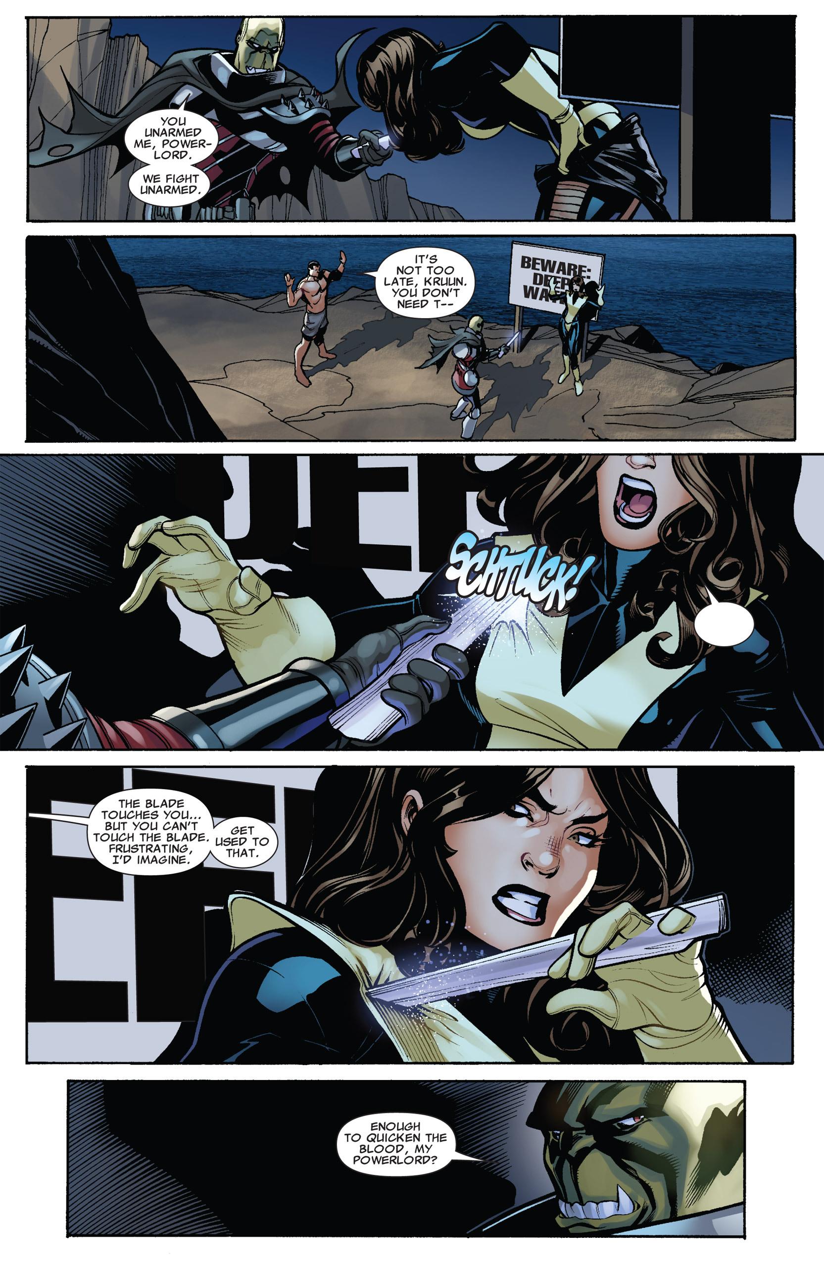 Read online Uncanny X-Men (1963) comic -  Issue #537 - 9