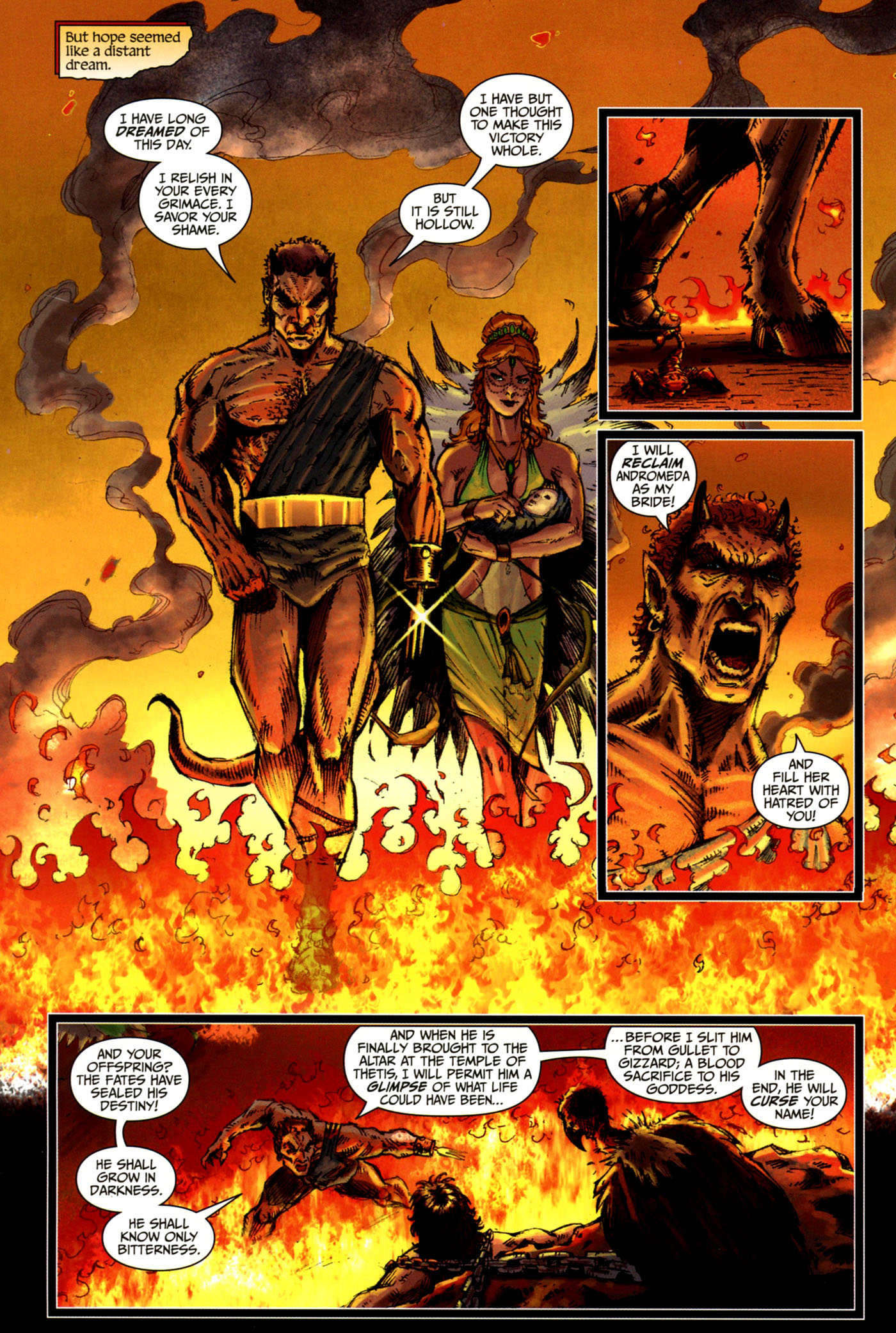 Read online Wrath of the Titans comic -  Issue #4 - 5