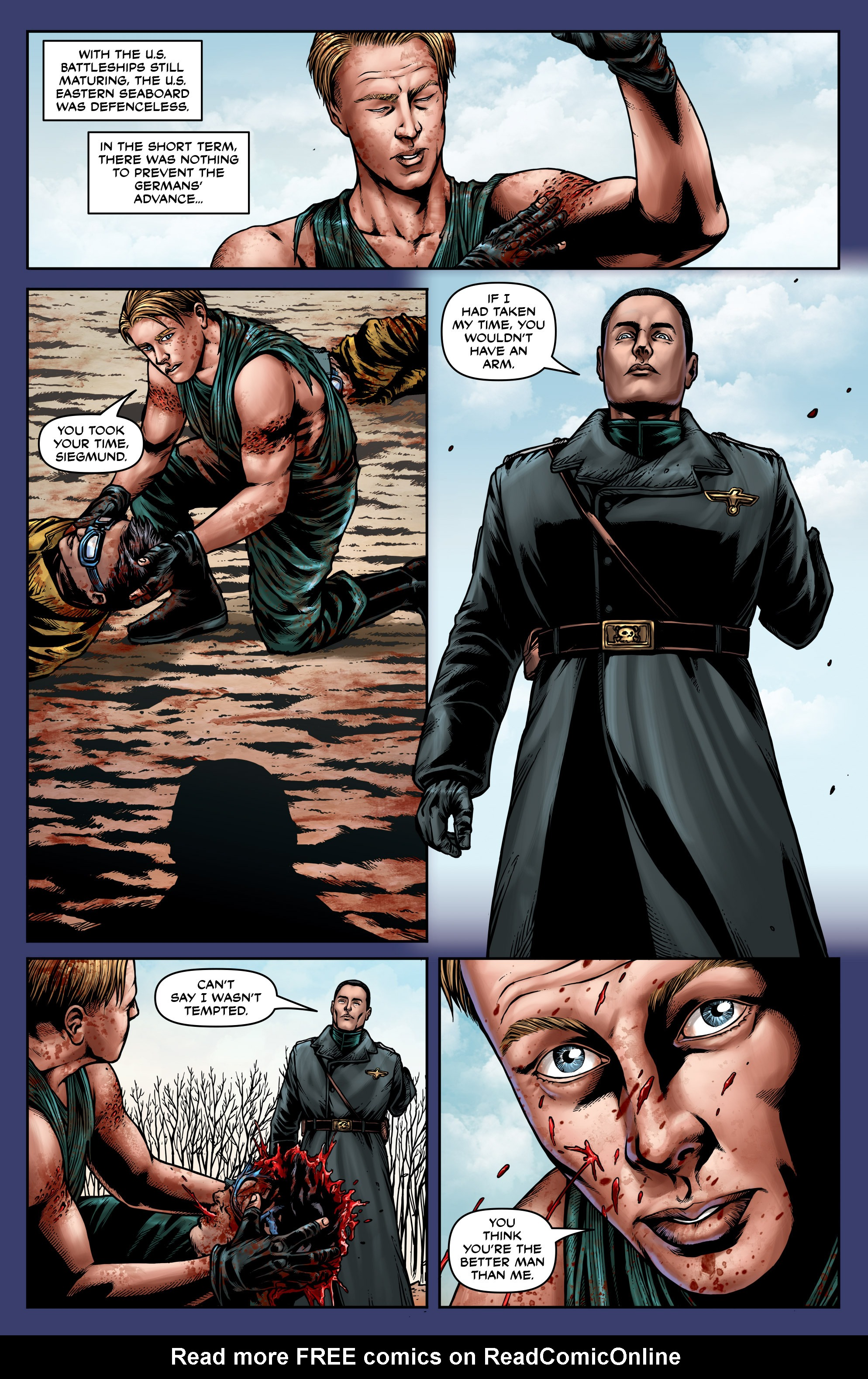 Read online Uber: Invasion comic -  Issue #3 - 17