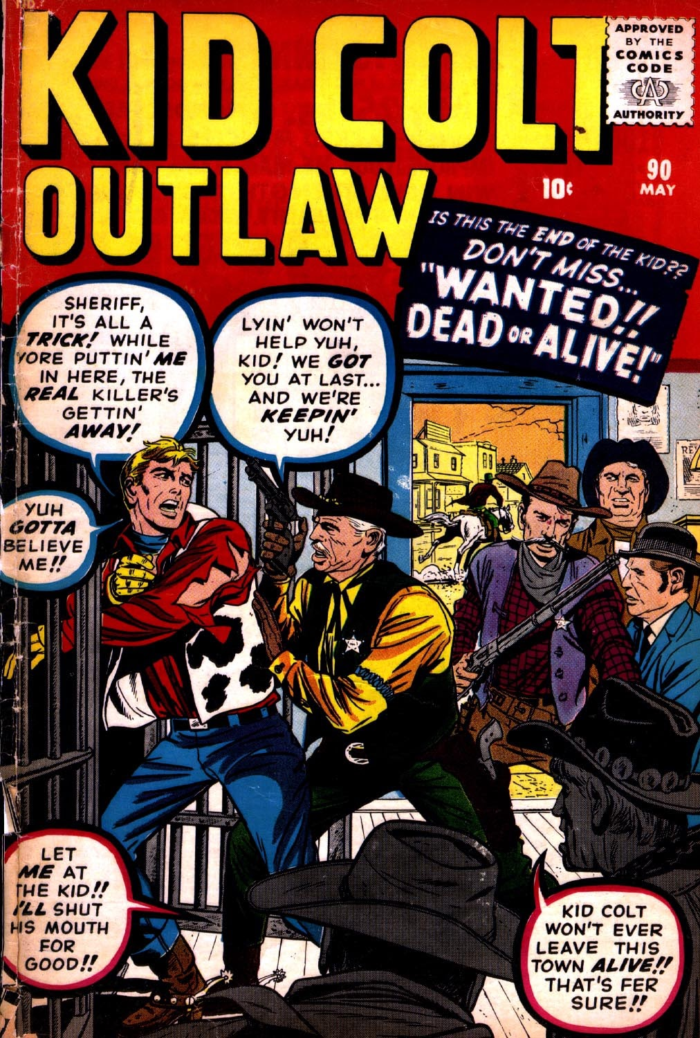 Kid Colt Outlaw issue 90 - Page 1