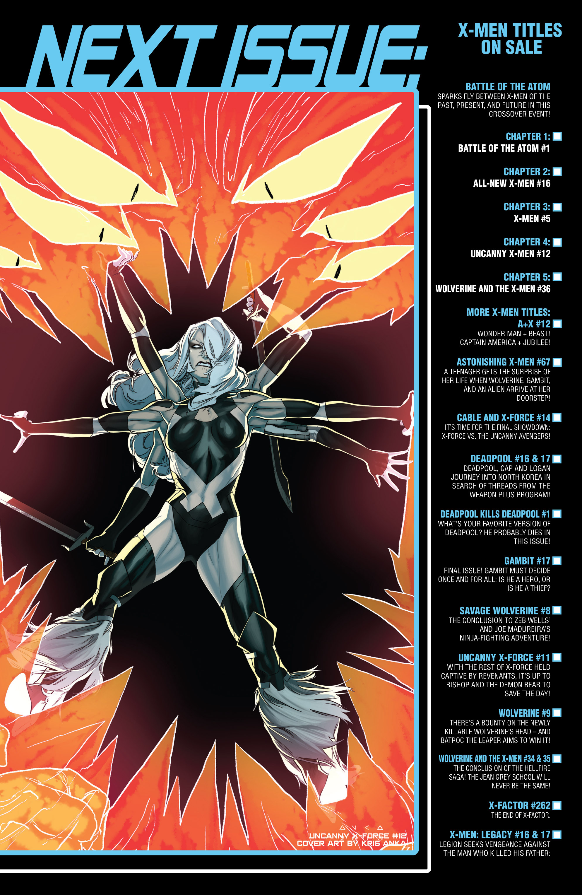 Read online Uncanny X-Force (2013) comic -  Issue #11 - 22