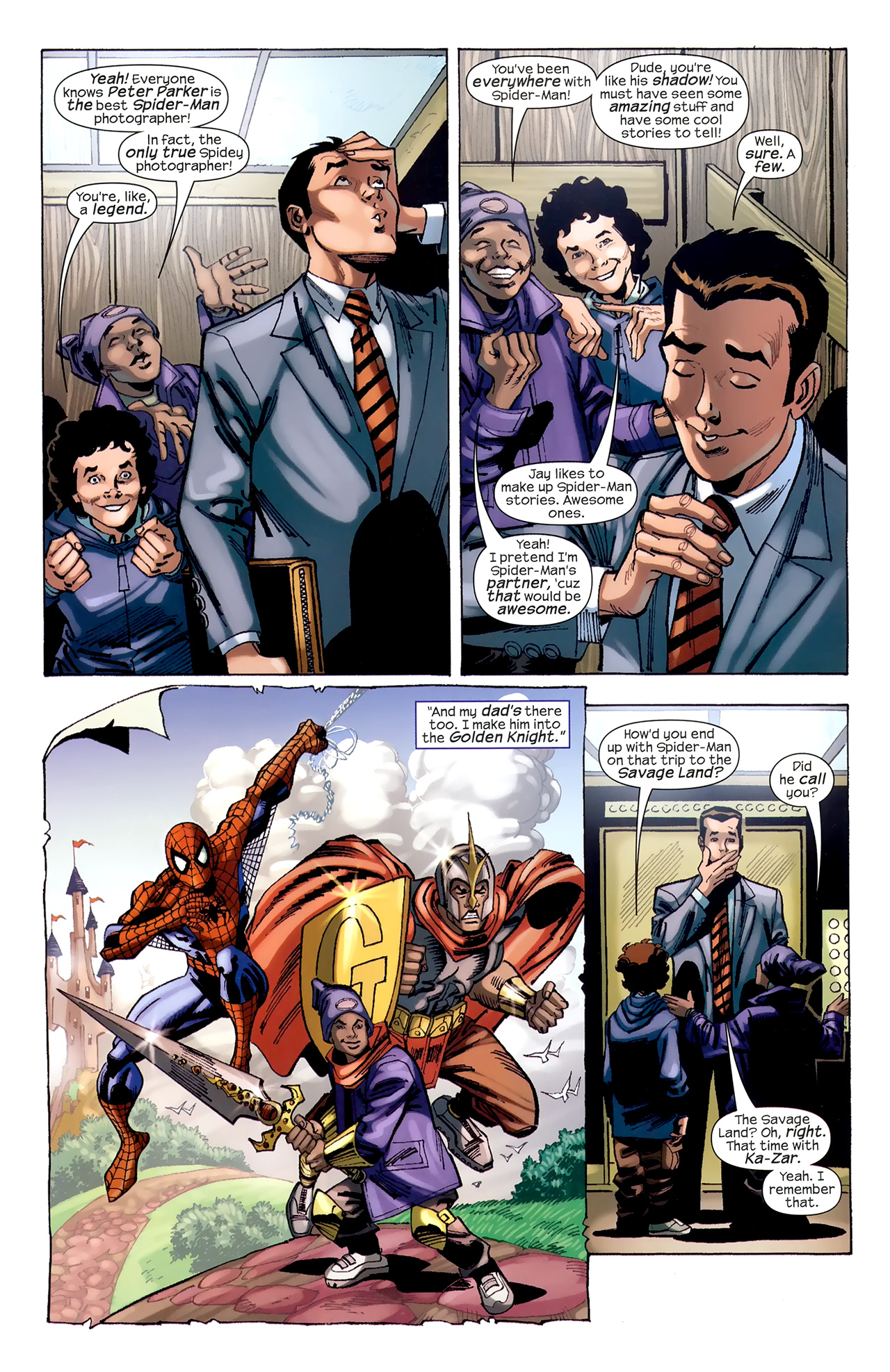 Read online Amazing Spider-Man Family comic -  Issue #6 - 51