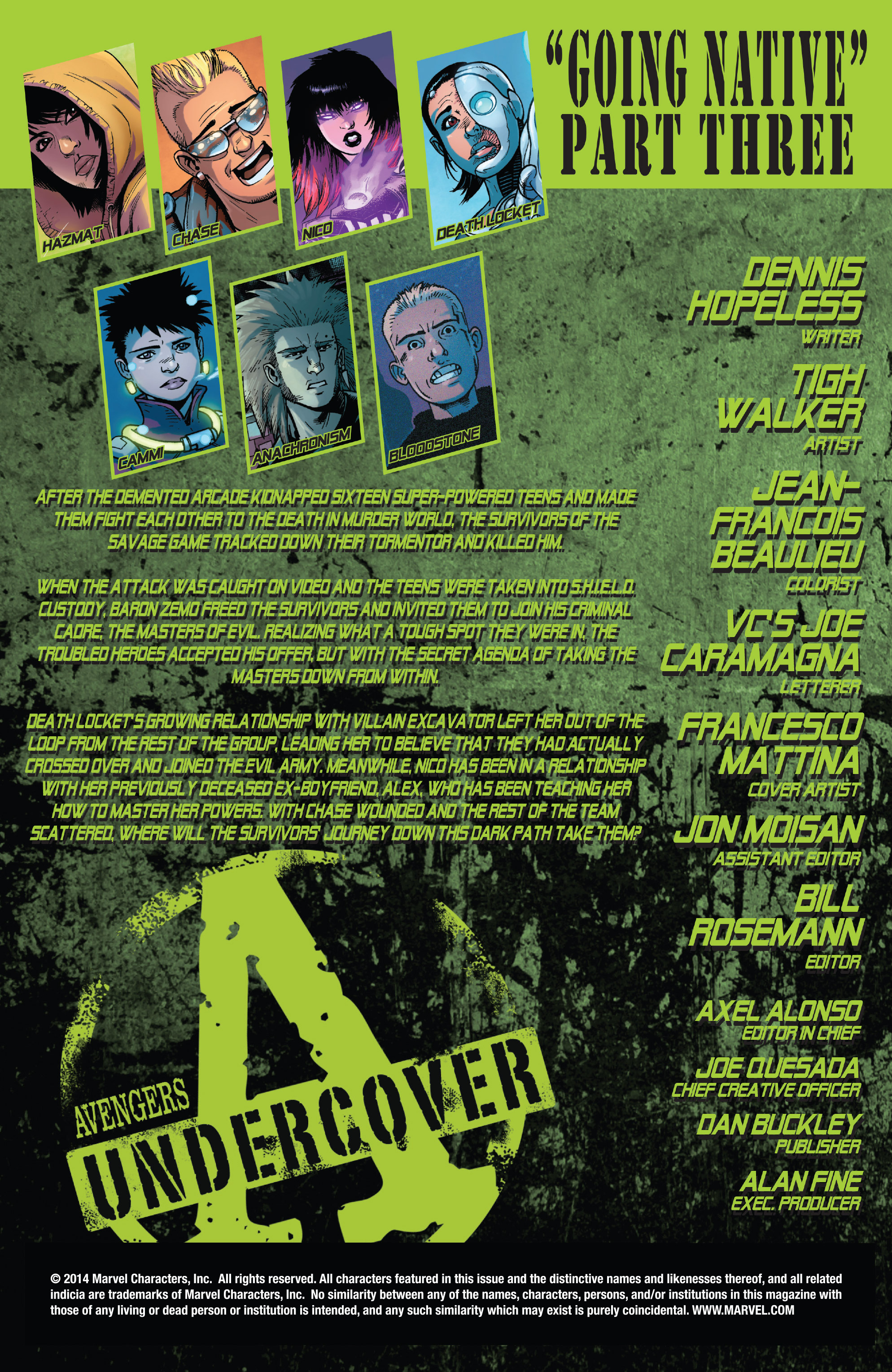 Read online Avengers Undercover comic -  Issue #8 - 2
