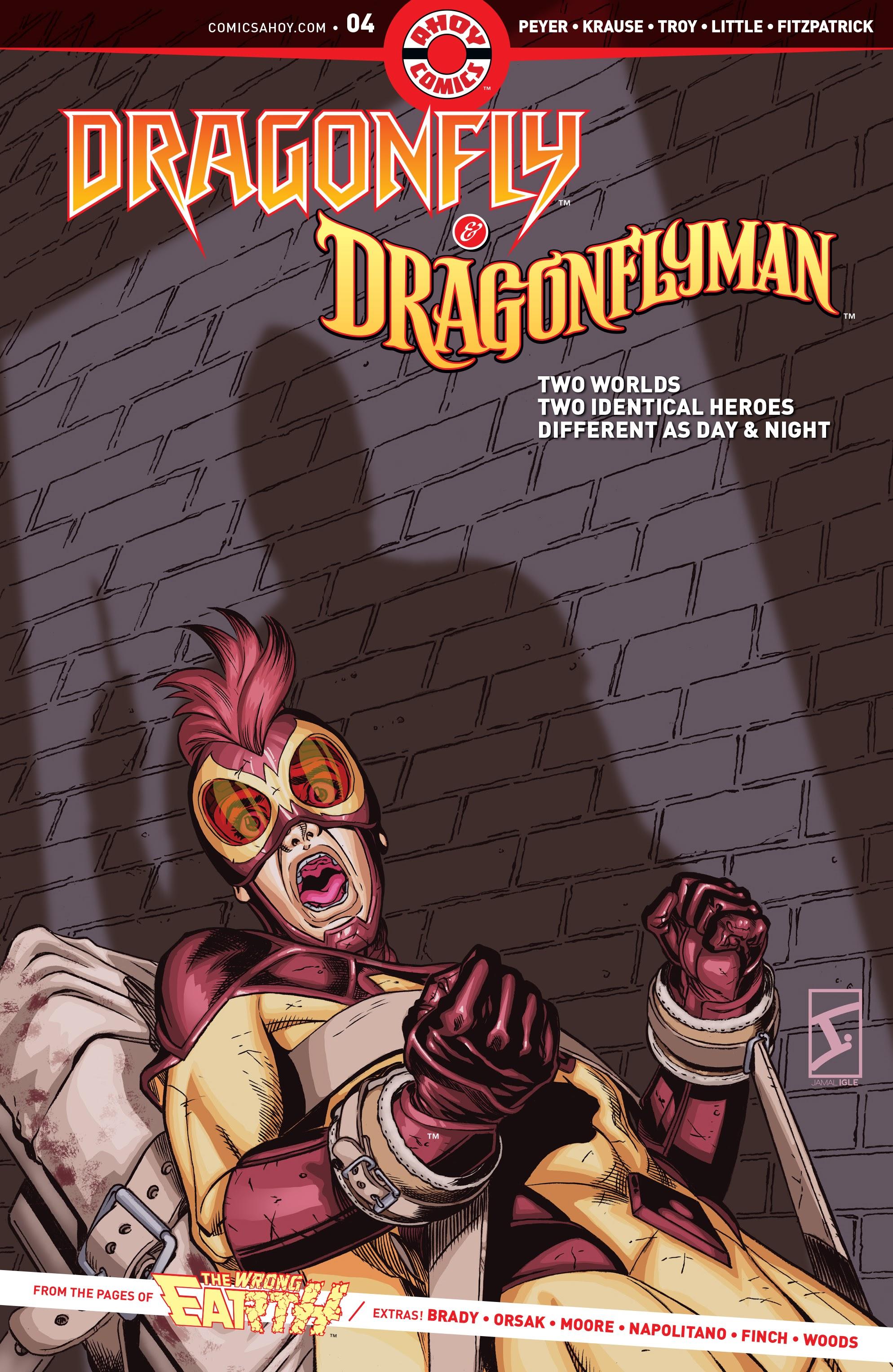Dragonfly & Dragonflyman 4 Page 1