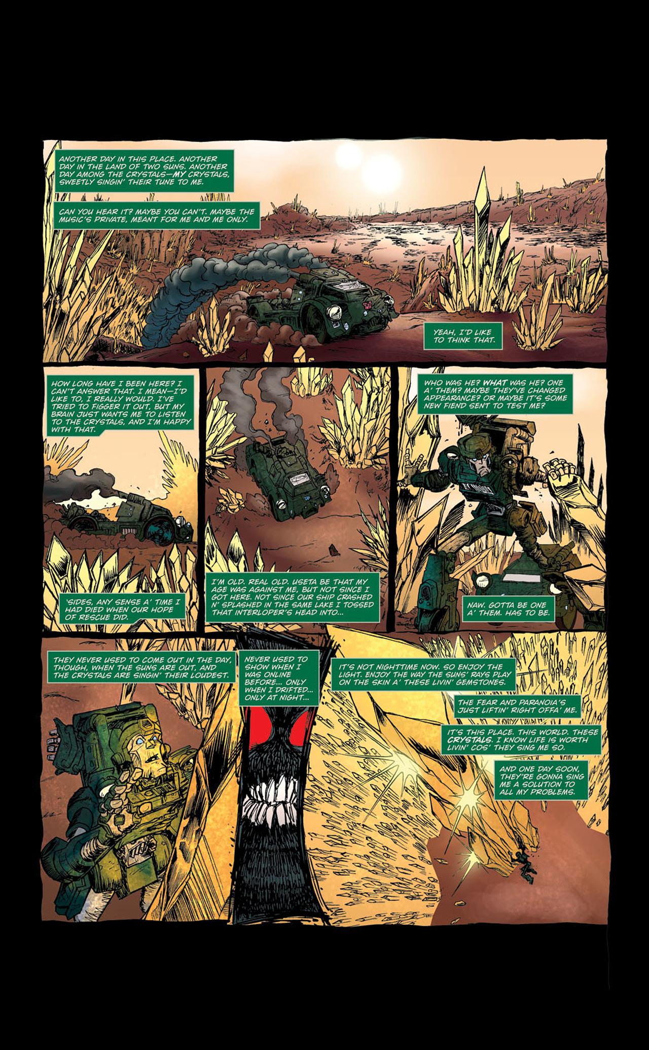 Read online Transformers Spotlight: Kup comic -  Issue # Full - 8