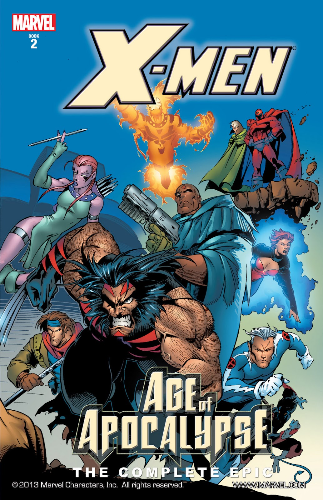 X-Men: The Complete Age of Apocalypse Epic issue TPB_2 - Page 1