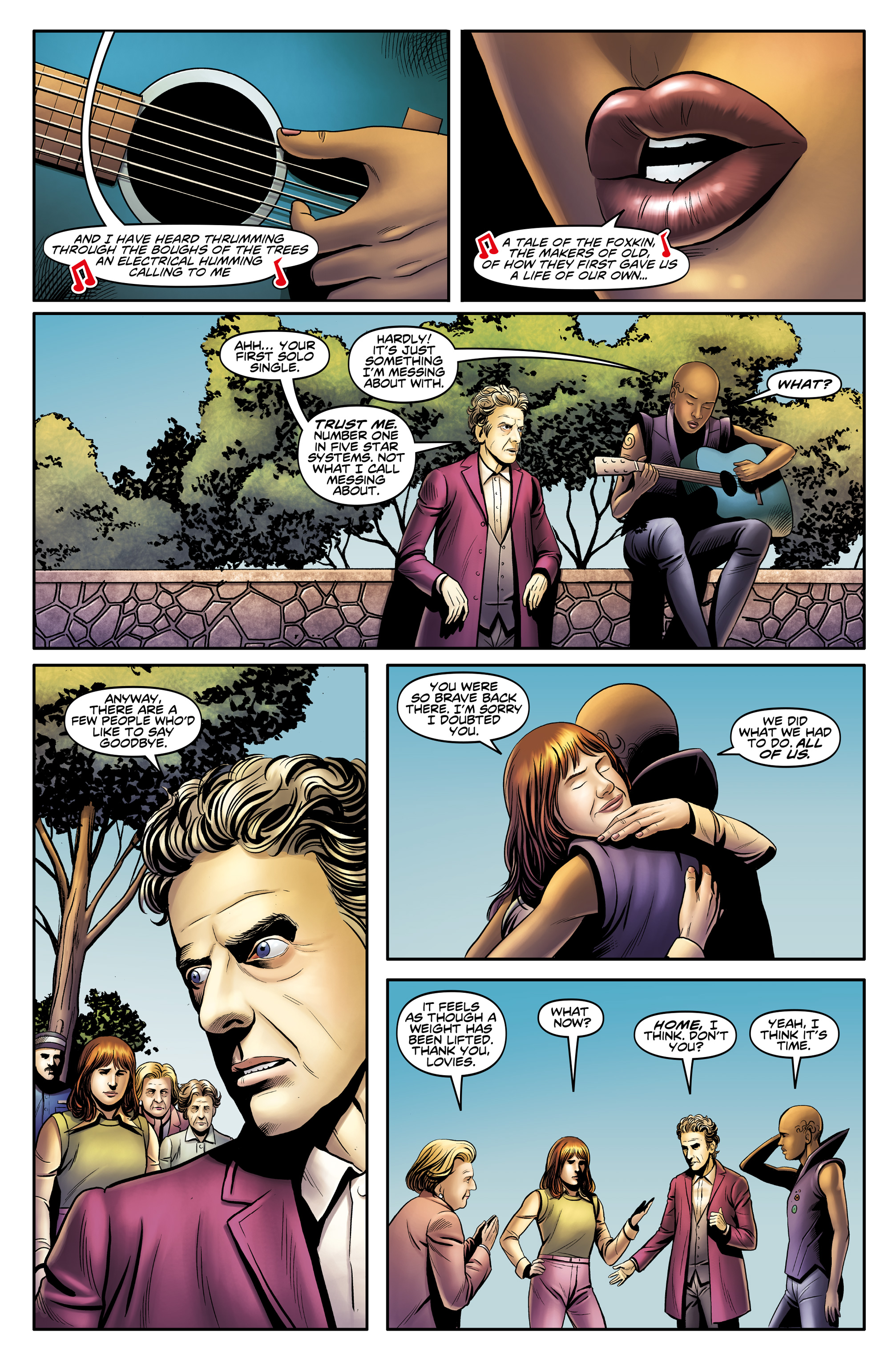 Read online Doctor Who: The Twelfth Doctor Year Three comic -  Issue #4 - 24