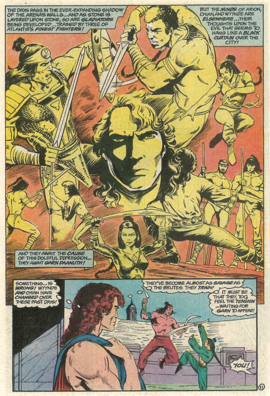 Read online Arion, Lord of Atlantis comic -  Issue #23 - 12