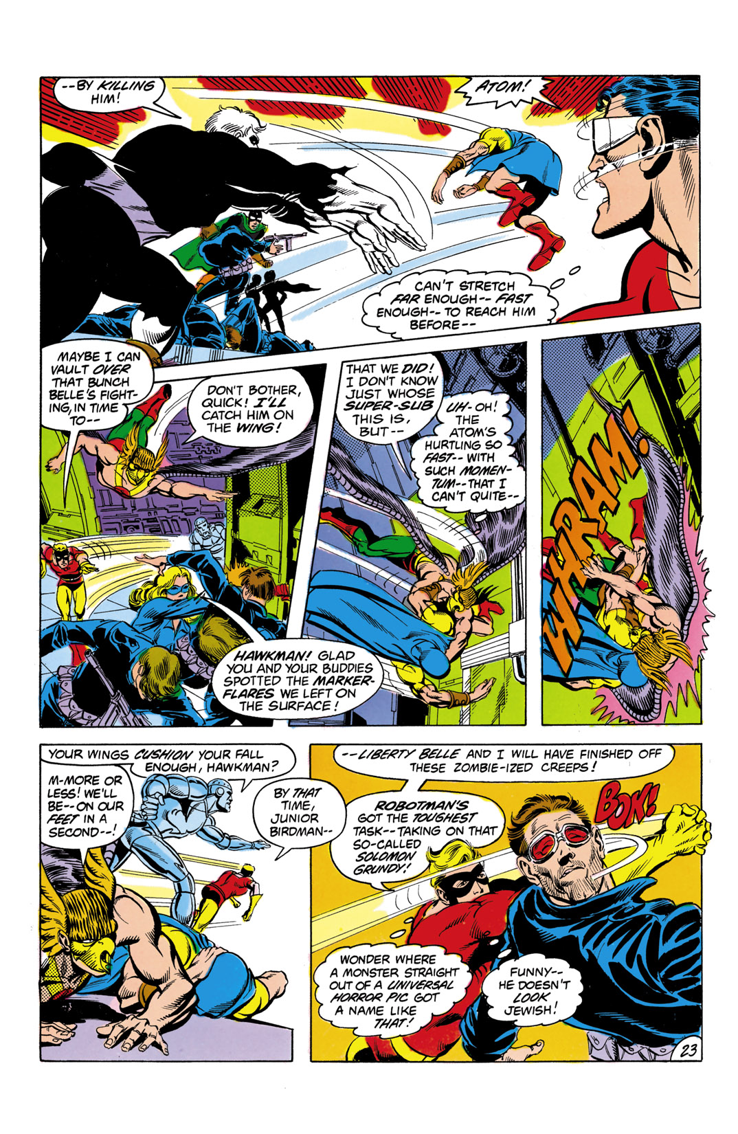 Read online All-Star Squadron comic -  Issue #3 - 24