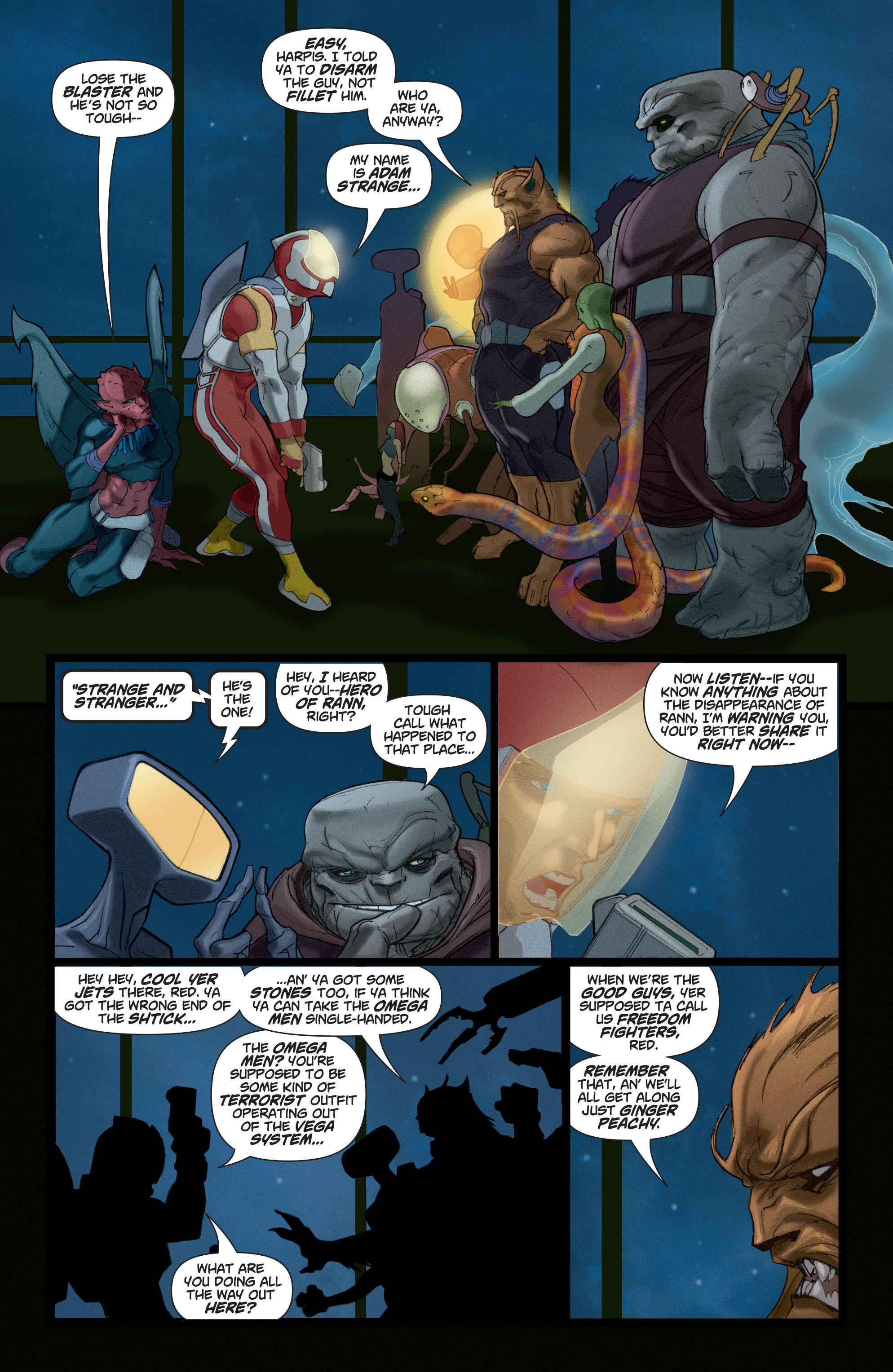 Read online Adam Strange (2004) comic -  Issue #4 - 12