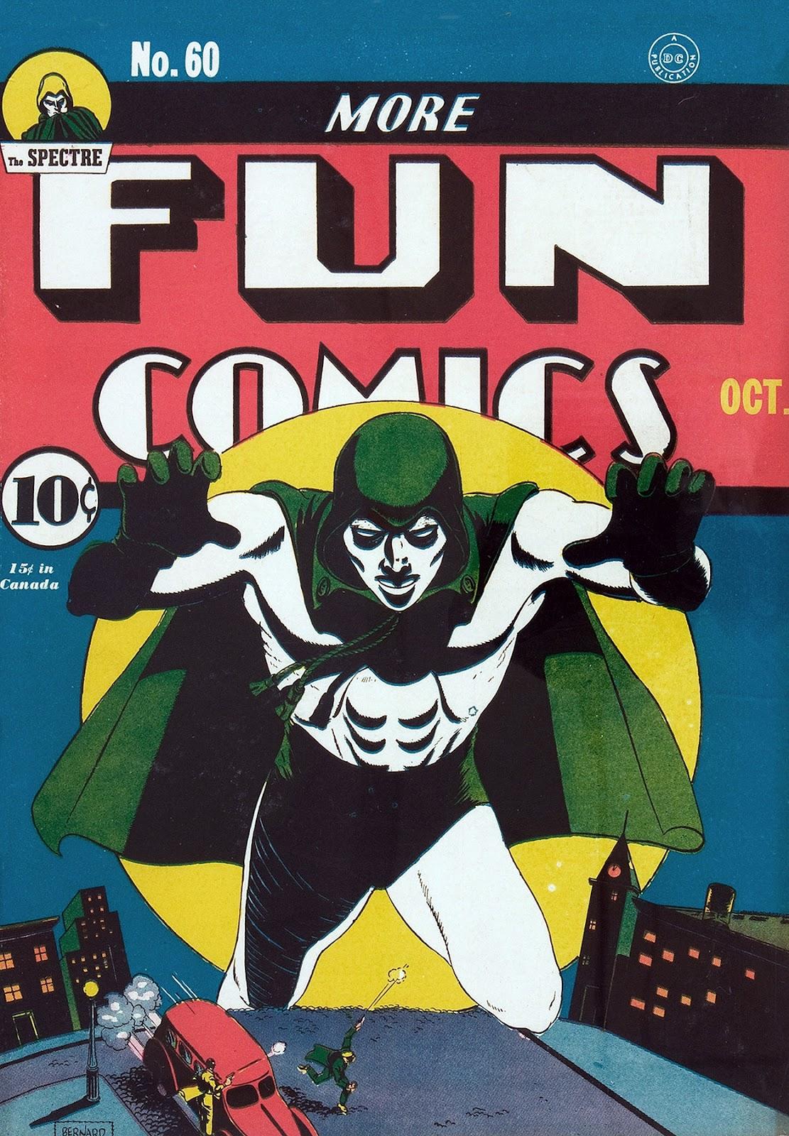 More Fun Comics 60 Page 1