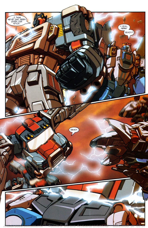Read online Transformers Armada comic -  Issue #17 - 21
