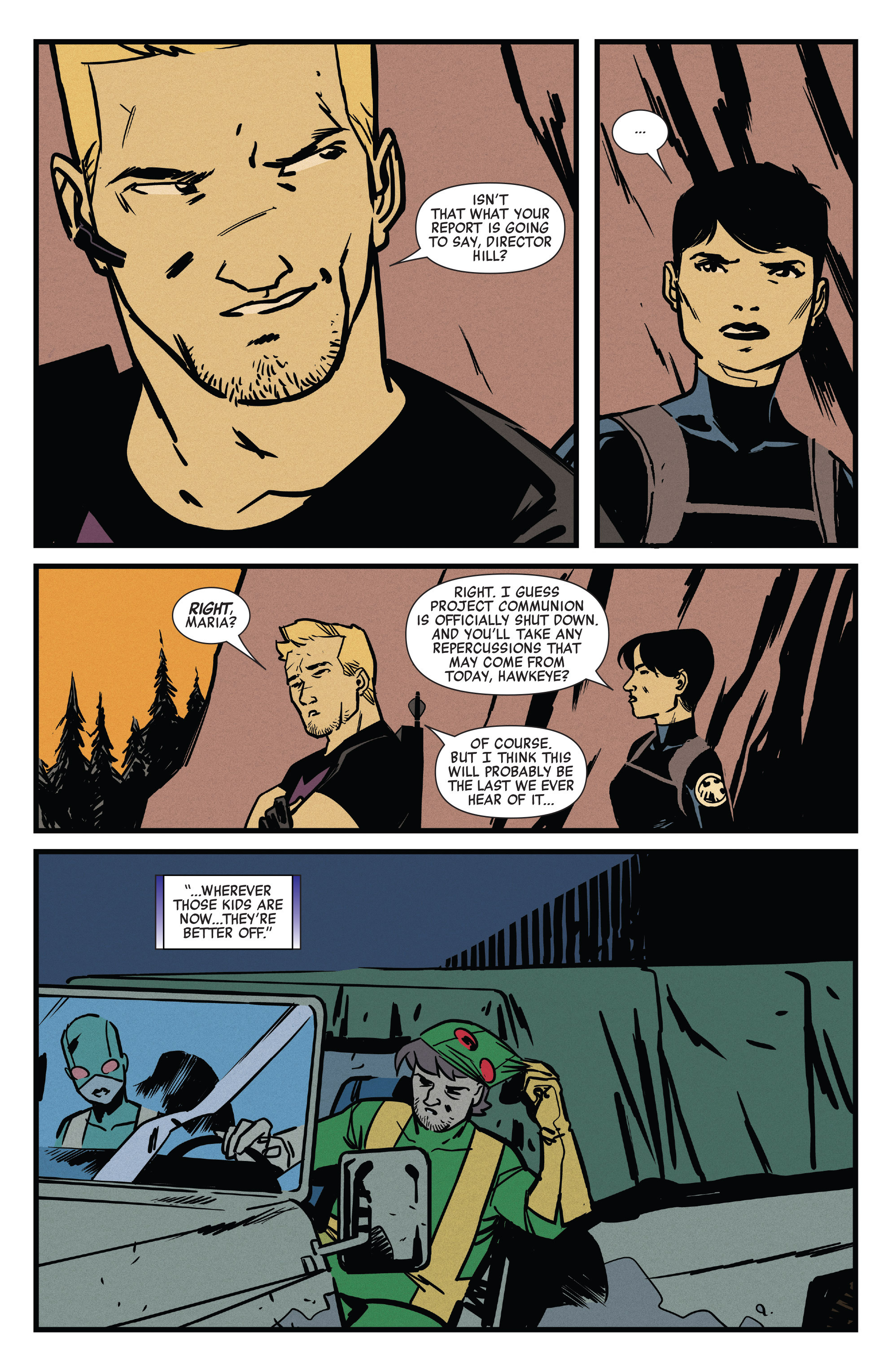 Read online All-New Hawkeye (2016) comic -  Issue #5 - 18