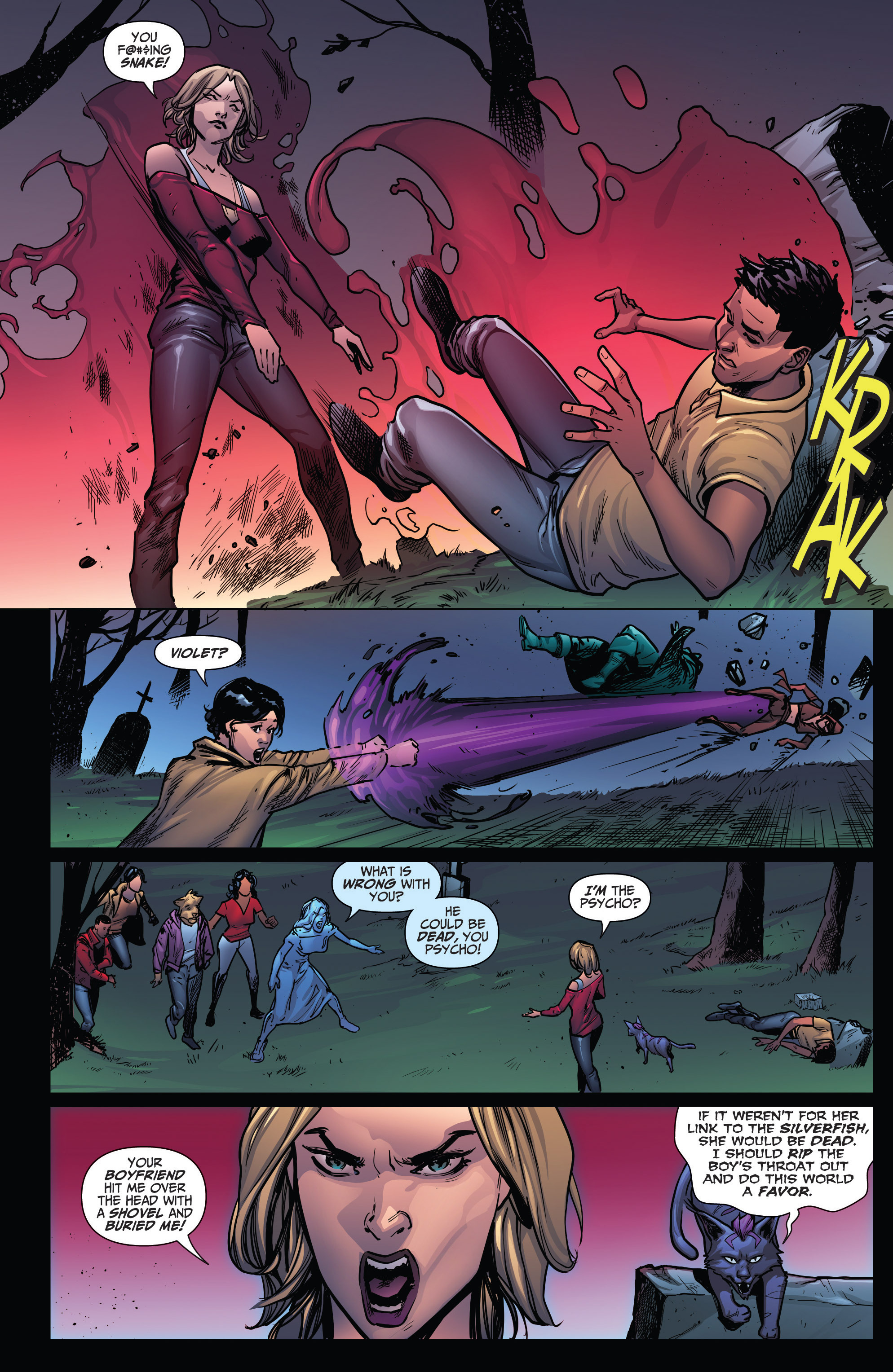 Read online Grimm Fairy Tales: Arcane Acre comic -  Issue # TPB 4 - 173