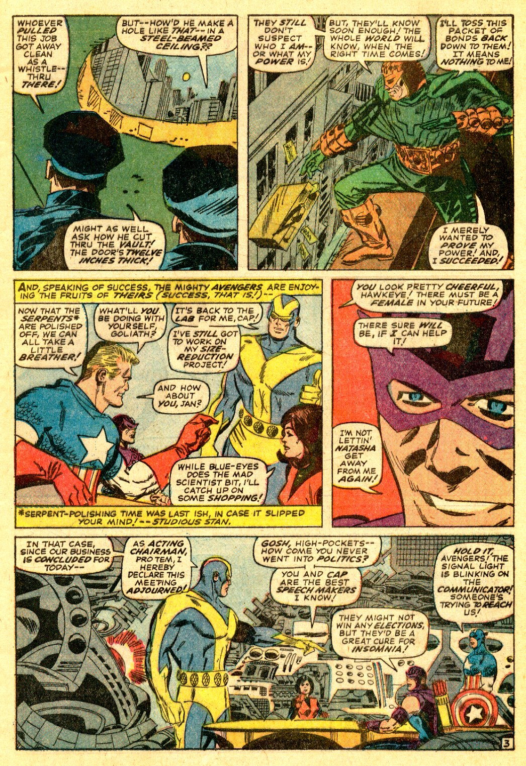 The Avengers (1963) 34 Page 3