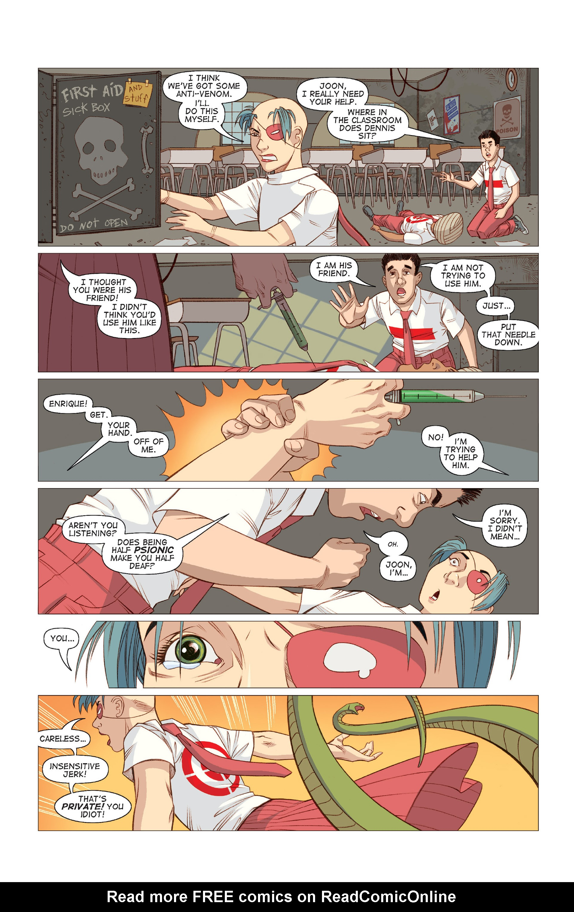 Read online Five Weapons comic -  Issue #8 - 23