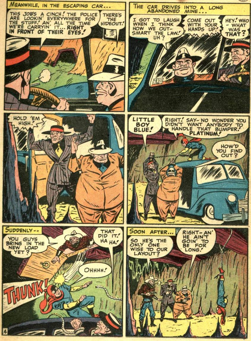 Read online Sensation (Mystery) Comics comic -  Issue #69 - 22