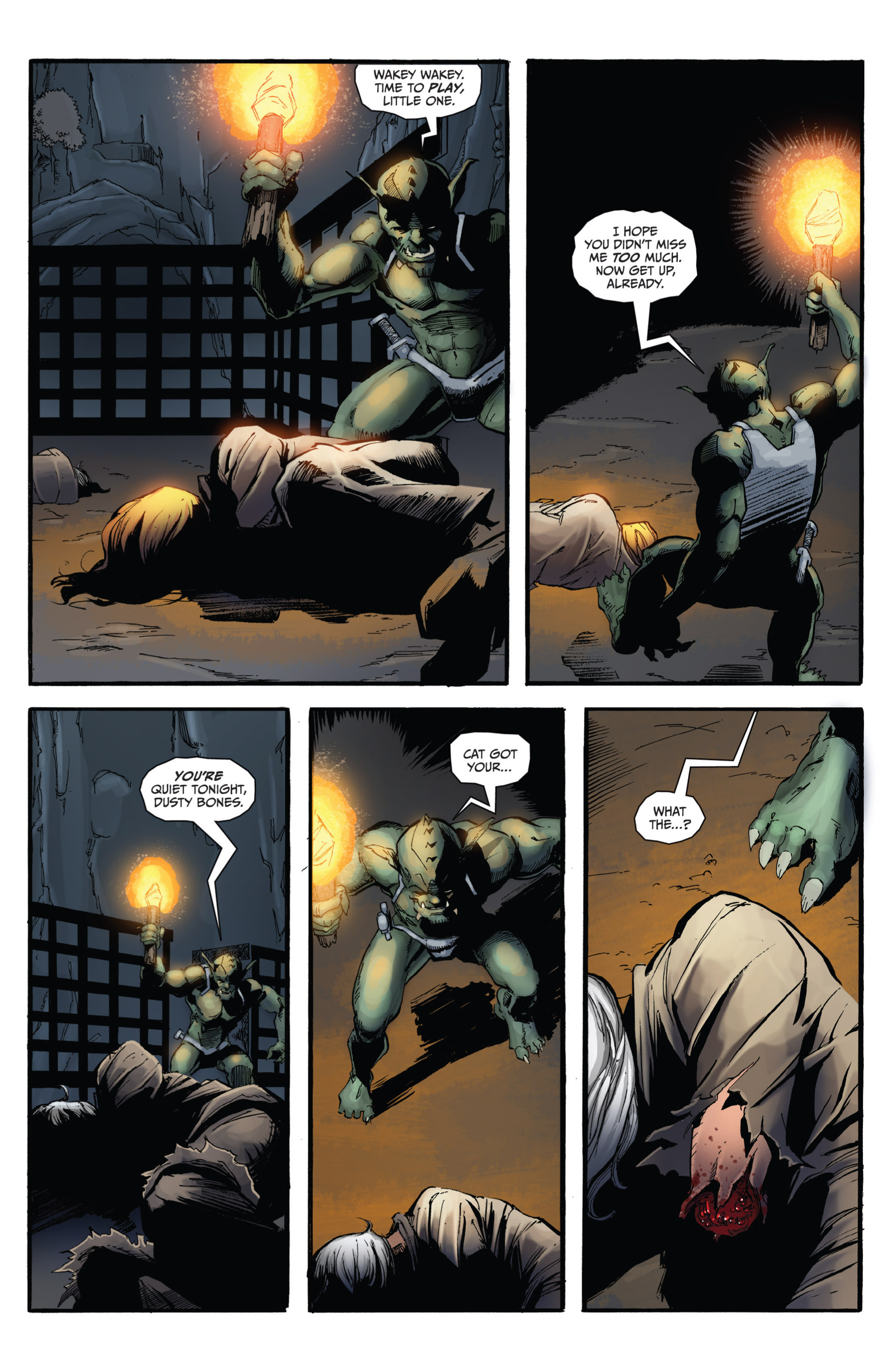 Read online Grimm Fairy Tales presents Grimm Universe comic -  Issue # TPB - 119