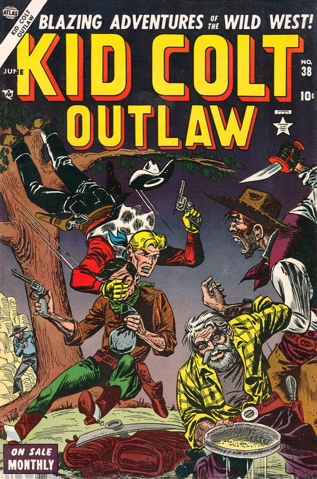 Kid Colt Outlaw issue 38 - Page 1