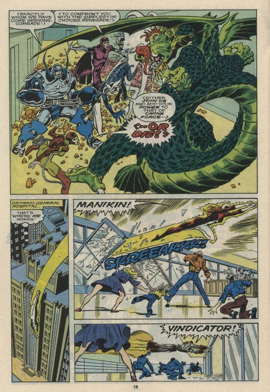 Read online Alpha Flight (1983) comic -  Issue #66 - 19