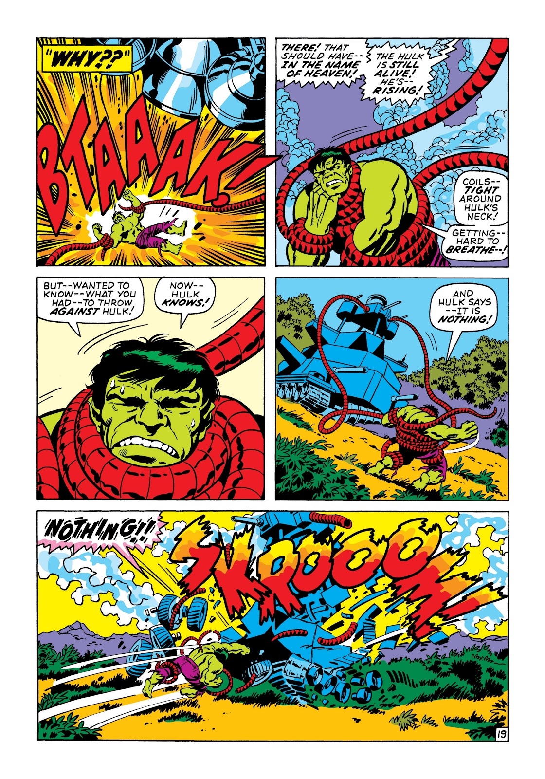Read online Marvel Masterworks: The Incredible Hulk comic -  Issue # TPB 6 (Part 3) - 72