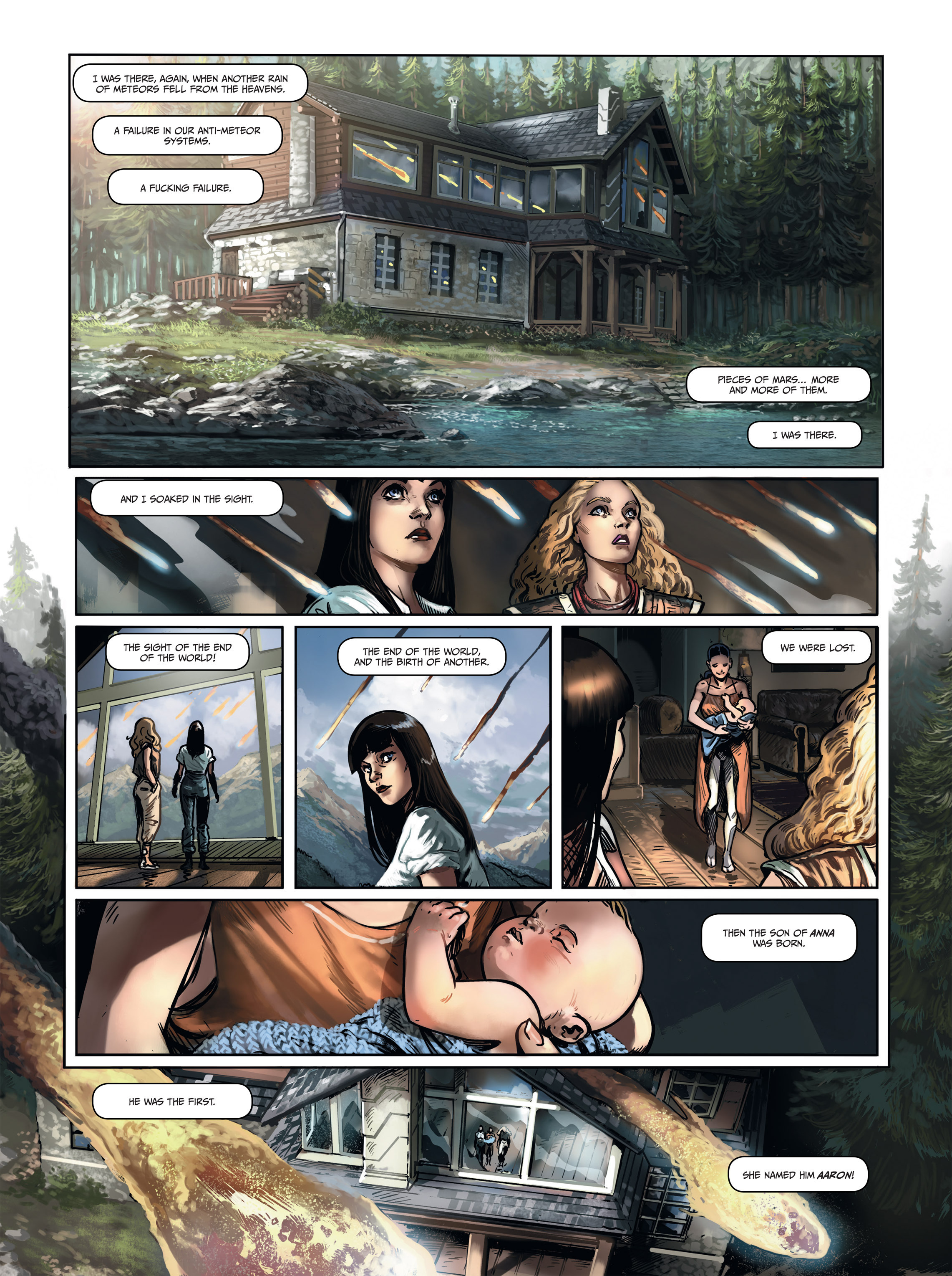 Read online Androïds comic -  Issue #1 - 61