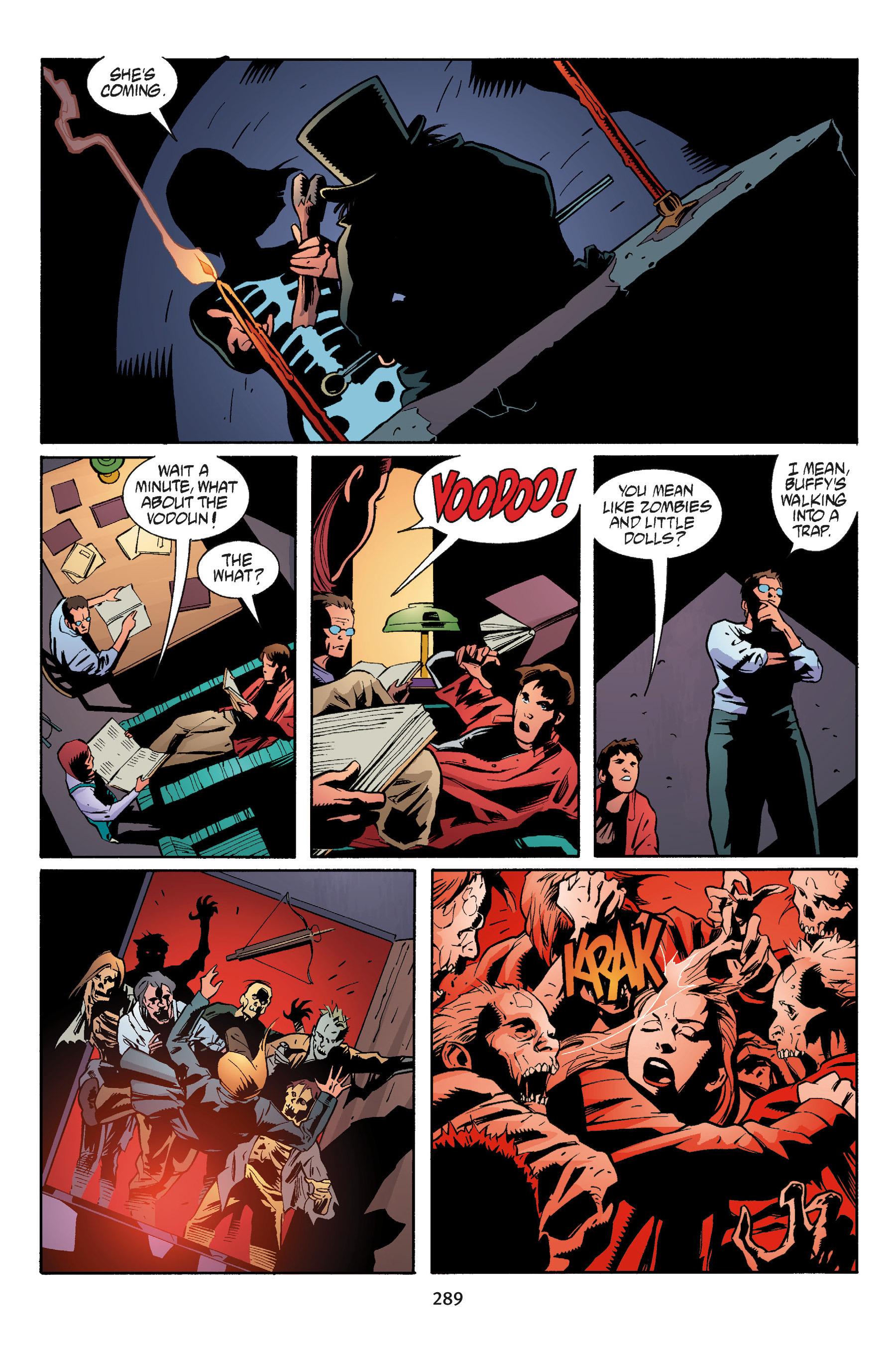 Read online Buffy the Vampire Slayer: Omnibus comic -  Issue # TPB 5 - 288