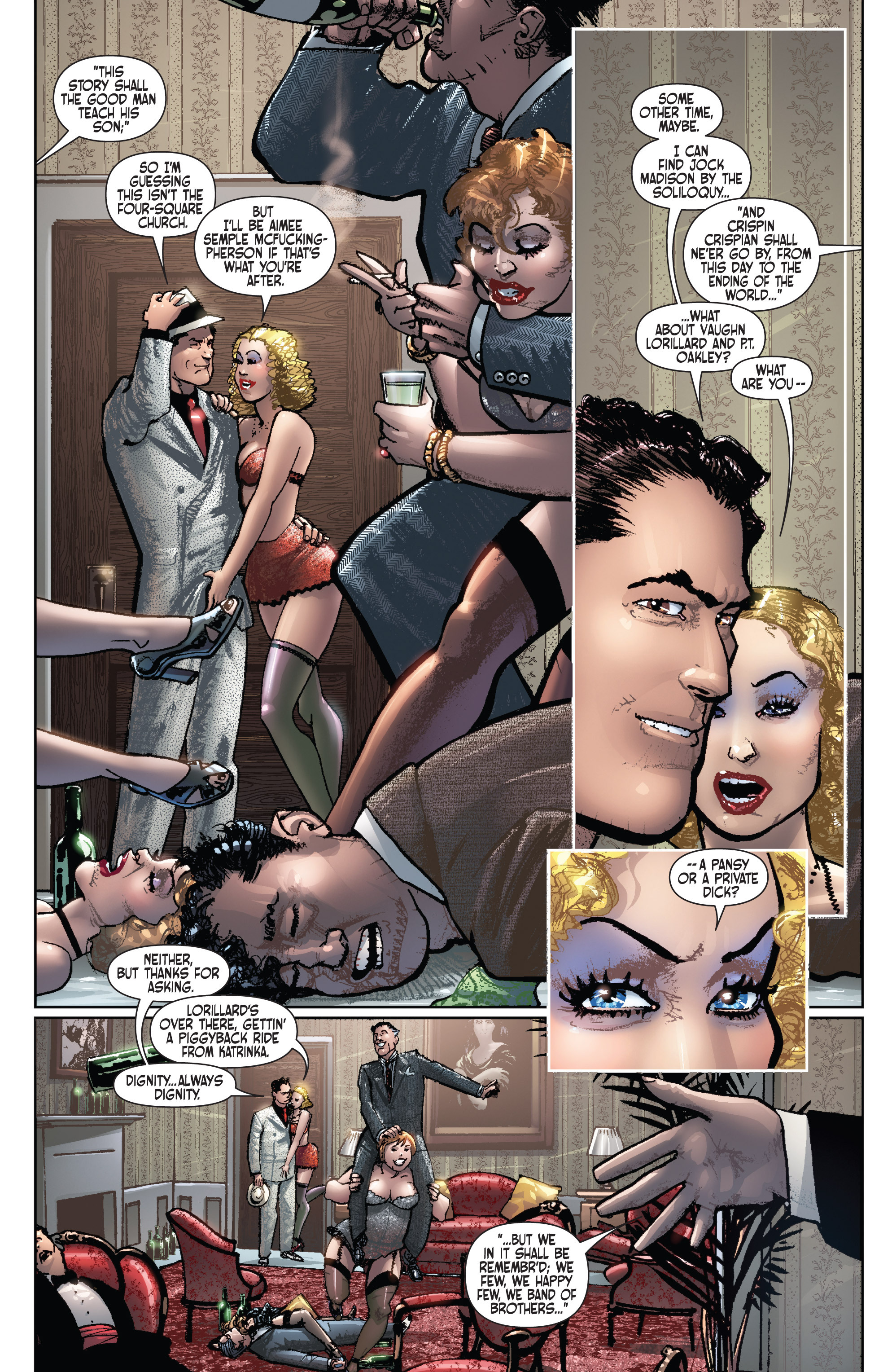 Read online Dominic Fortune comic -  Issue #1 - 13