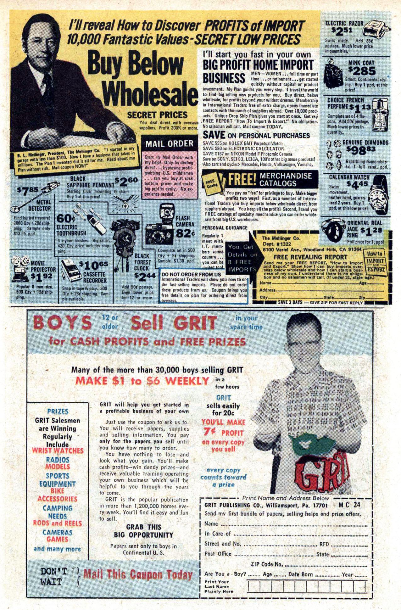 Read online Amazing Adventures (1970) comic -  Issue #23 - 14