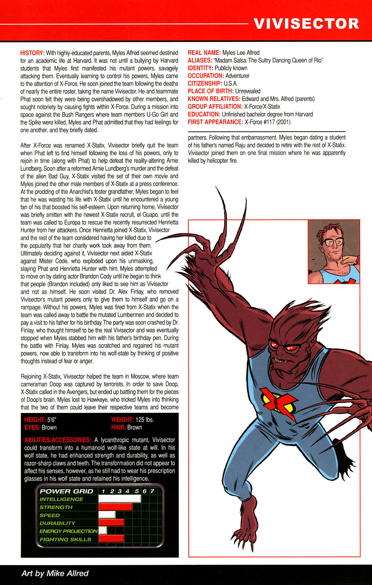 Read online All-New Official Handbook of the Marvel Universe A to Z comic -  Issue #12 - 23