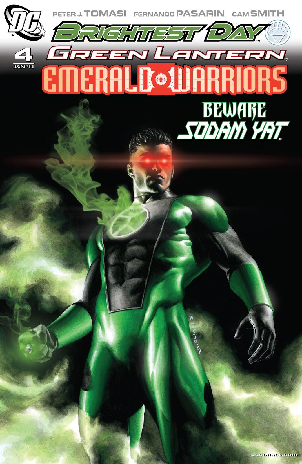 Green Lantern: Emerald Warriors 4 Page 1