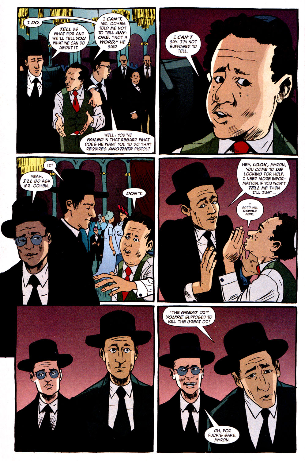 Read online Caper comic -  Issue #1 - 15