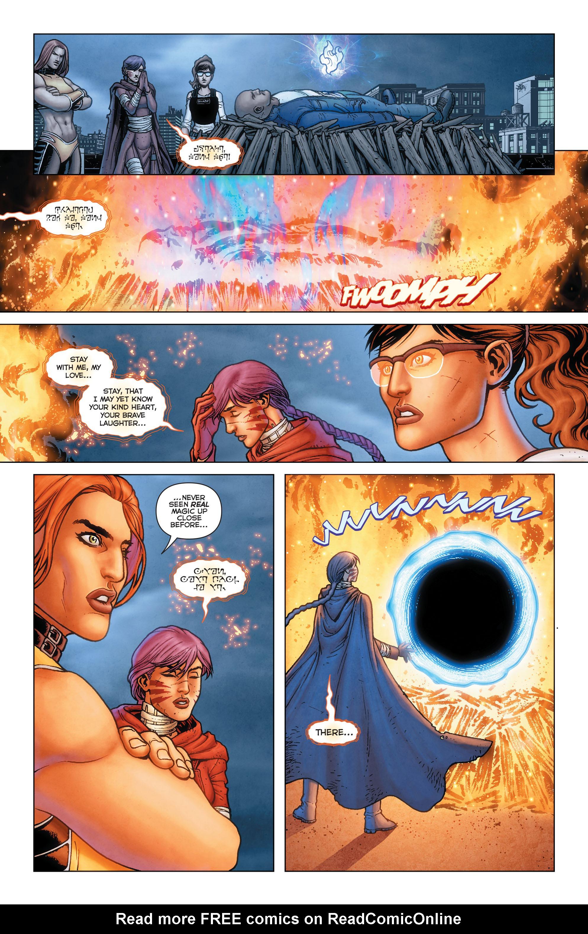 Read online Trinity of Sin: Pandora comic -  Issue #13 - 15