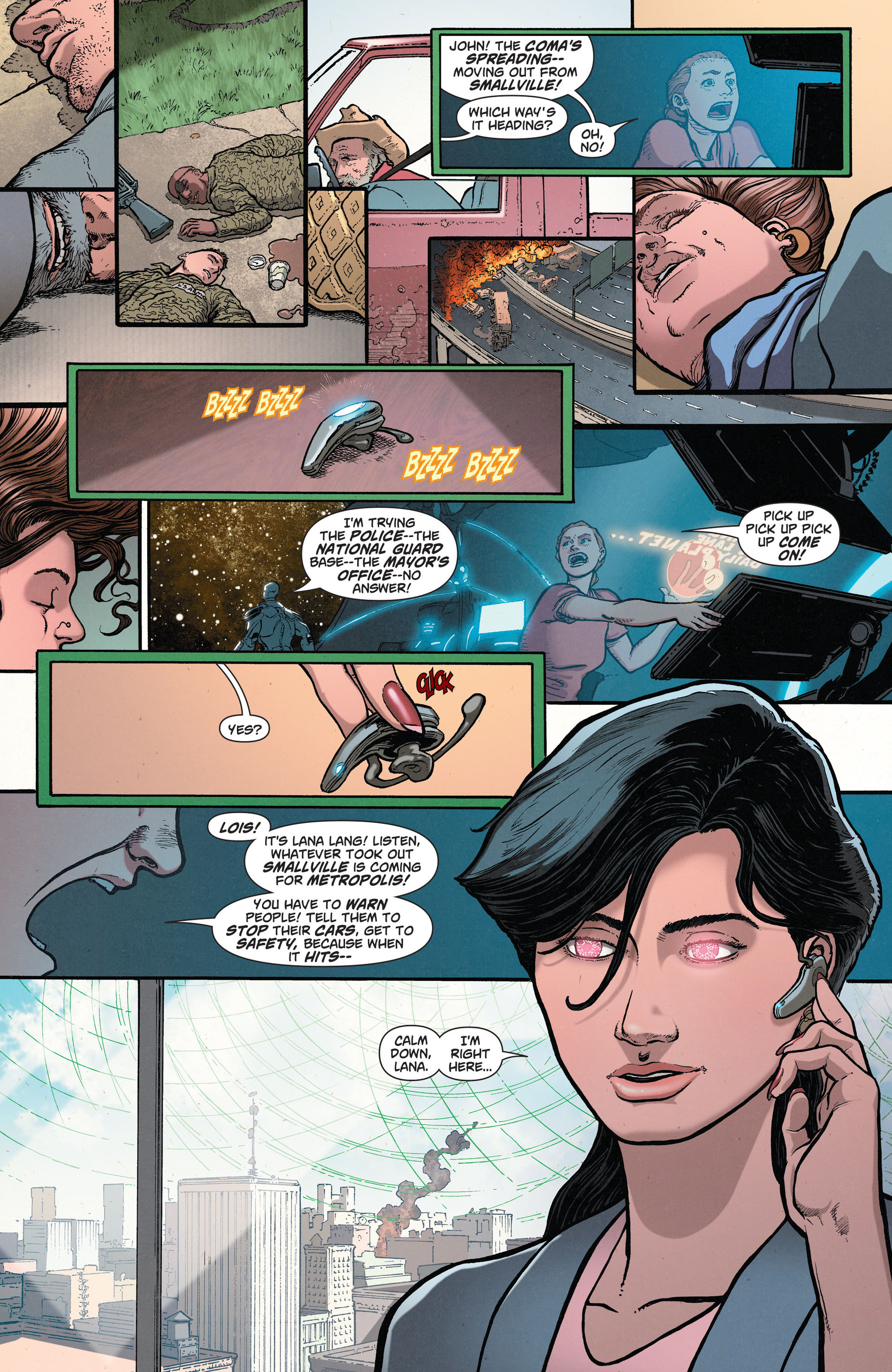 Read online Action Comics (2011) comic -  Issue #33 - 21