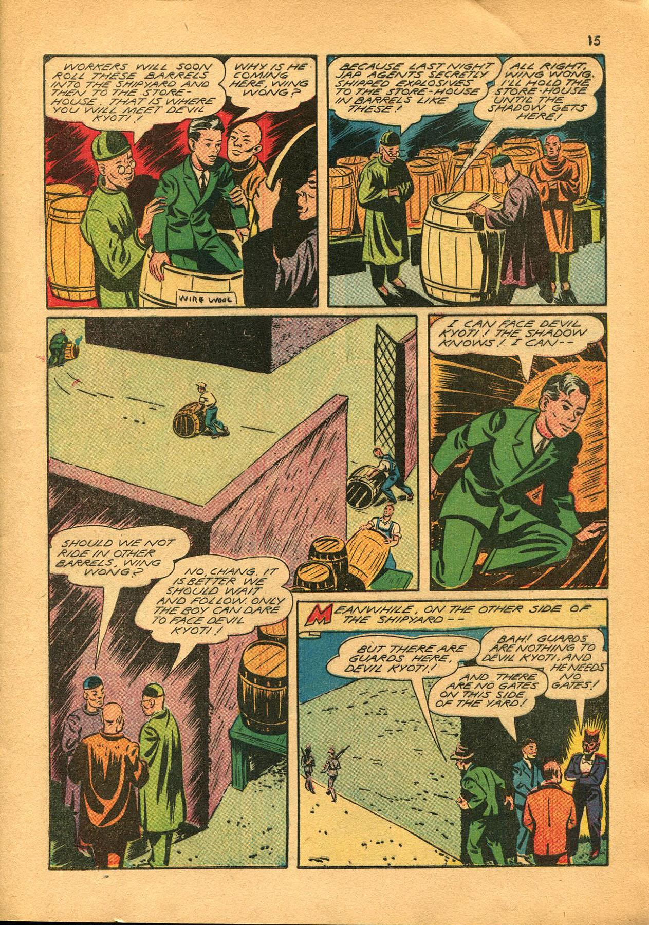 Read online Shadow Comics comic -  Issue #23 - 15